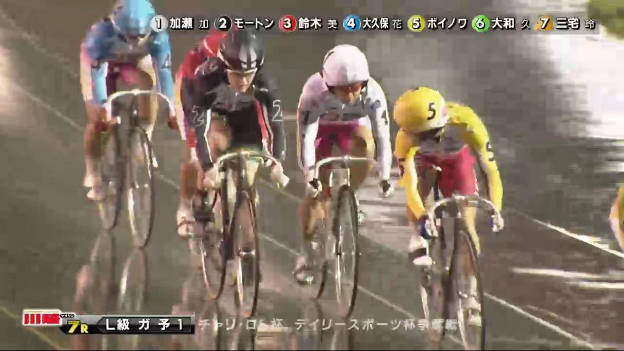 2017/10/6 川崎【FⅡ】第7R L級ガールズ予選(第1走)