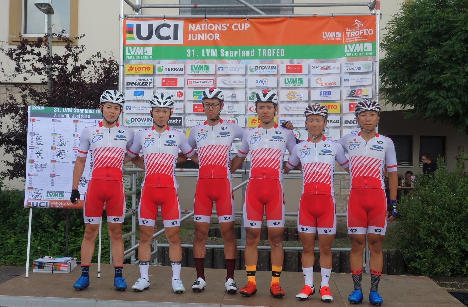 ジュニア日本ナショナルチーム