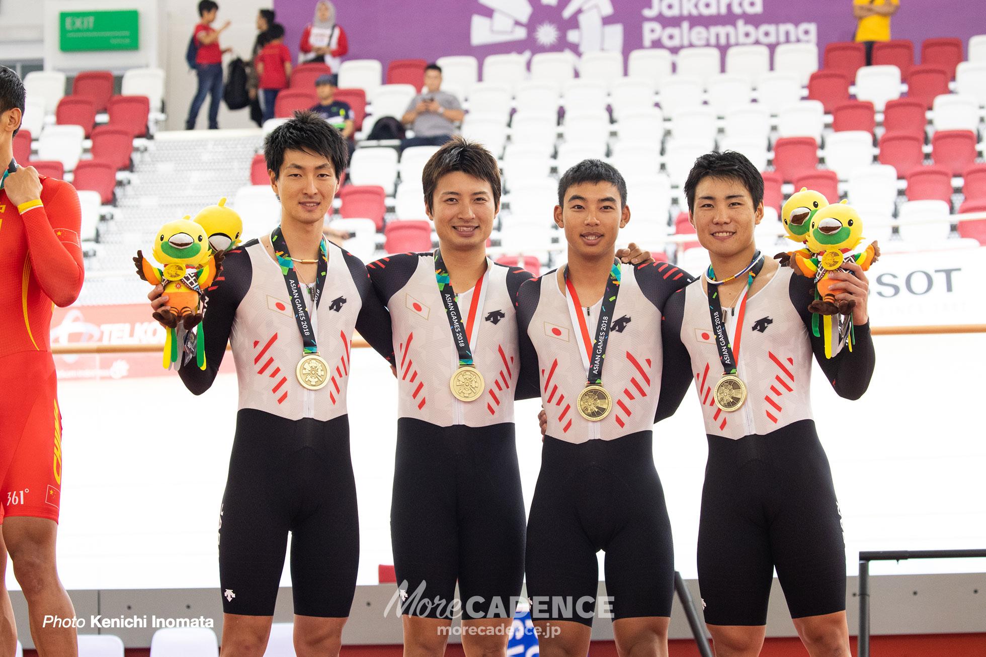 アジア大会2018男子チームパシュート