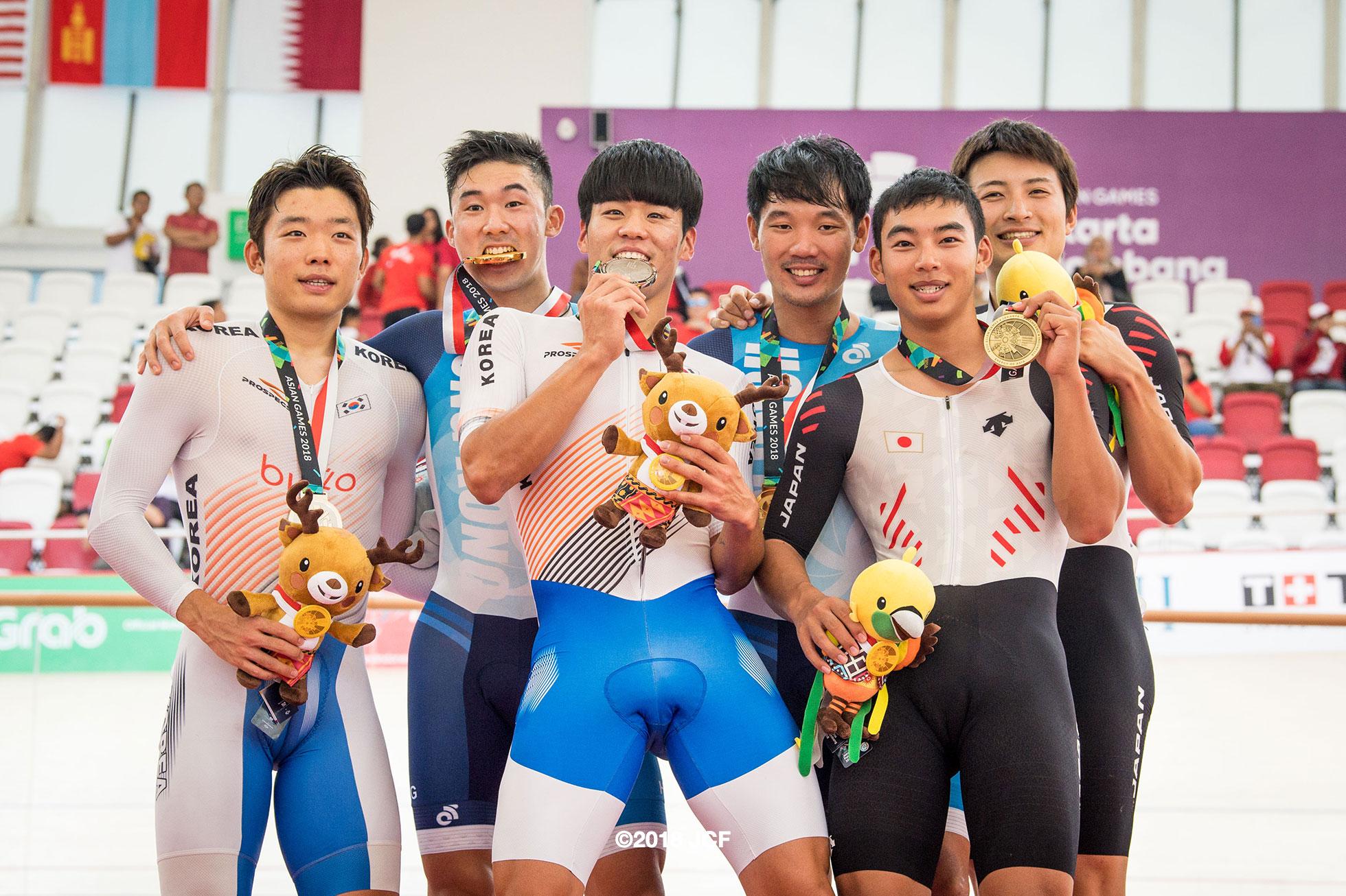 2018アジア大会男子マディソン橋本英也&今村駿介