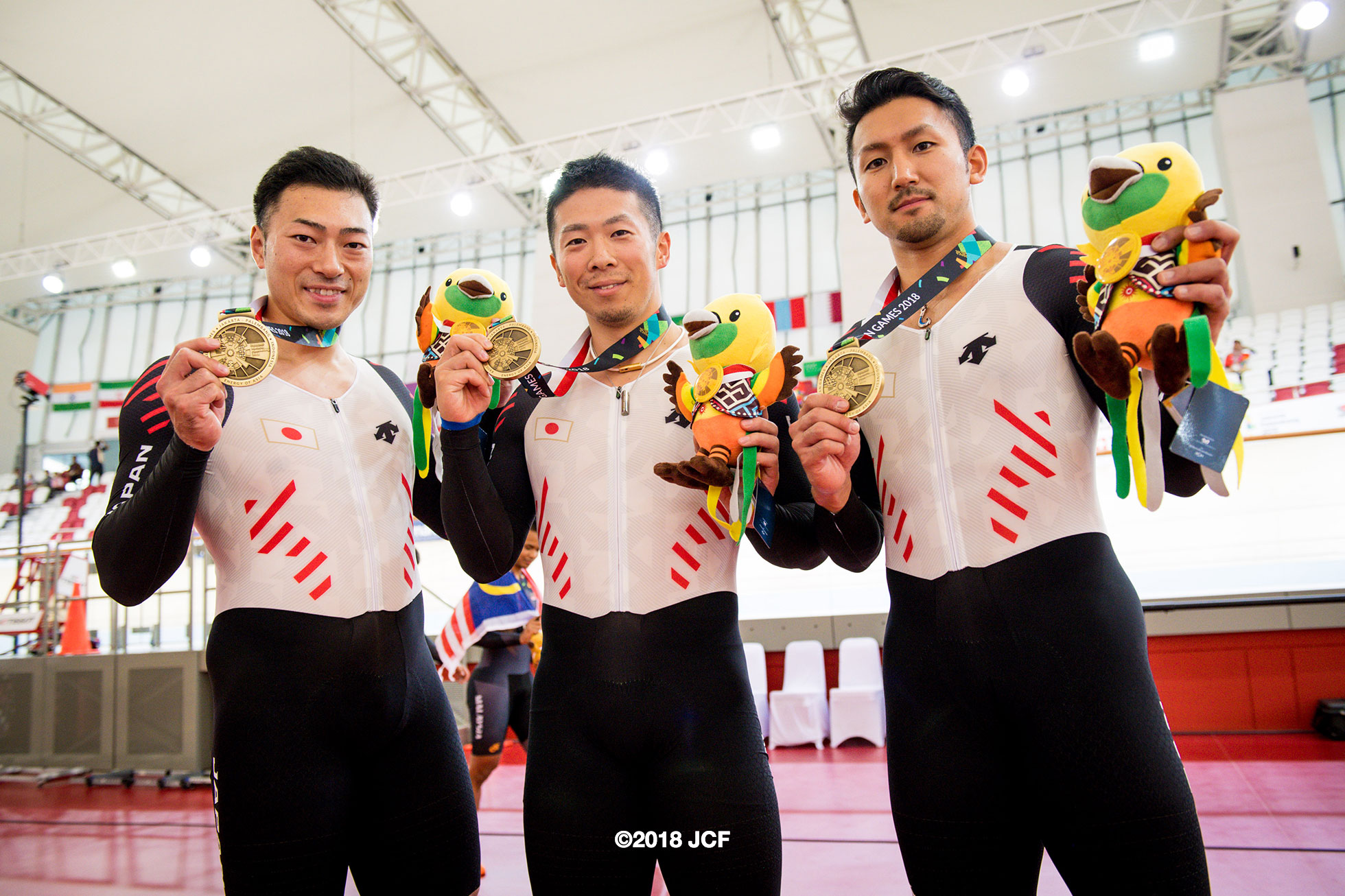 アジア大会2018男子チームスプリント