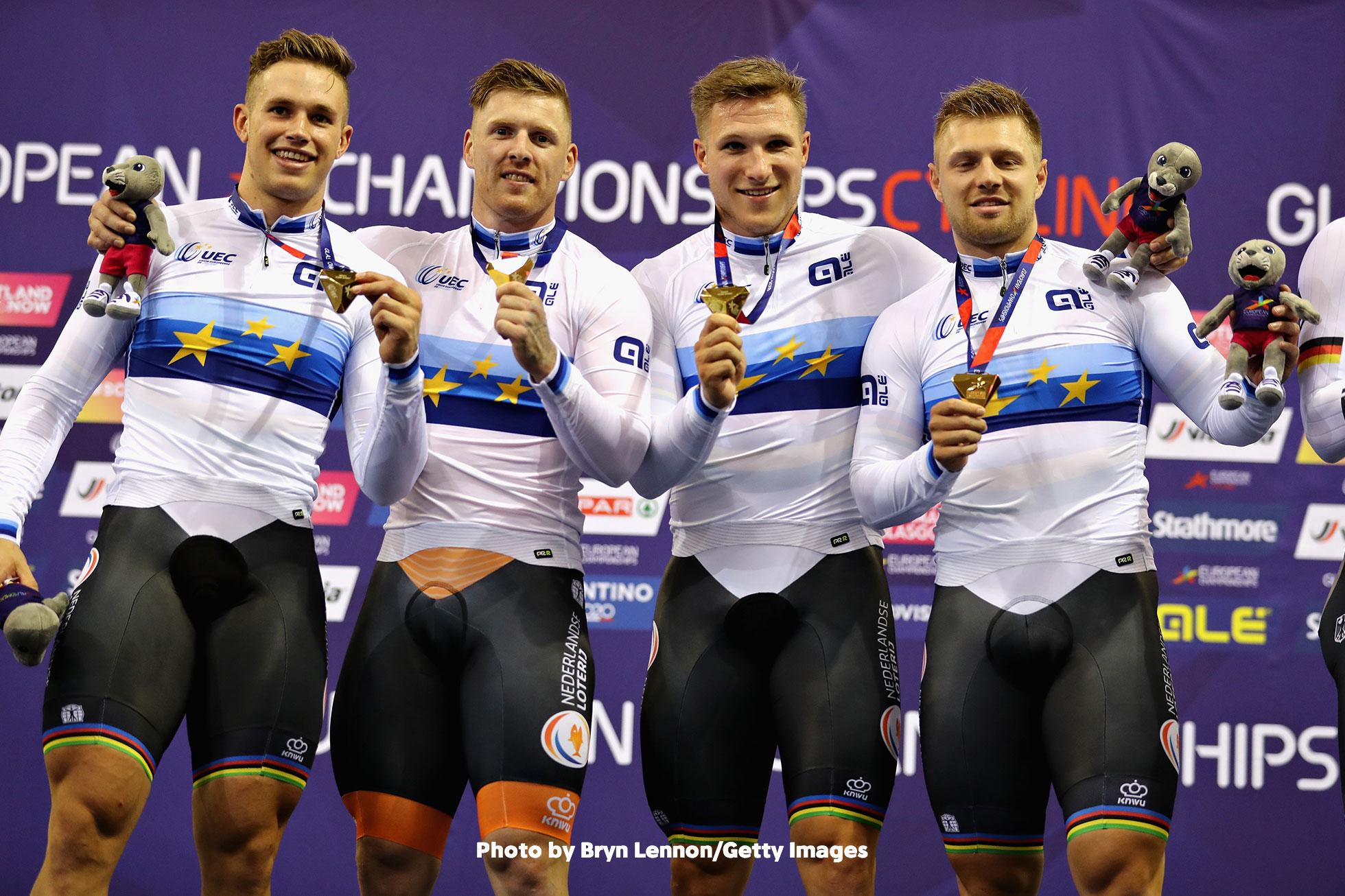 UECトラックヨーロッパ選手権2018・男子チームスプリント