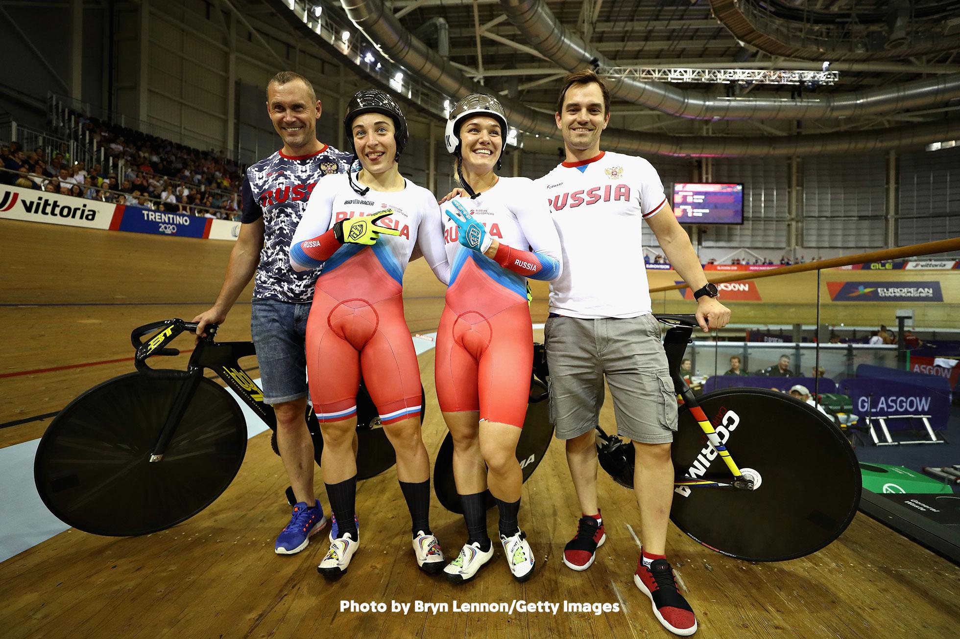 UECトラックヨーロッパ選手権2018・女子チームスプリント