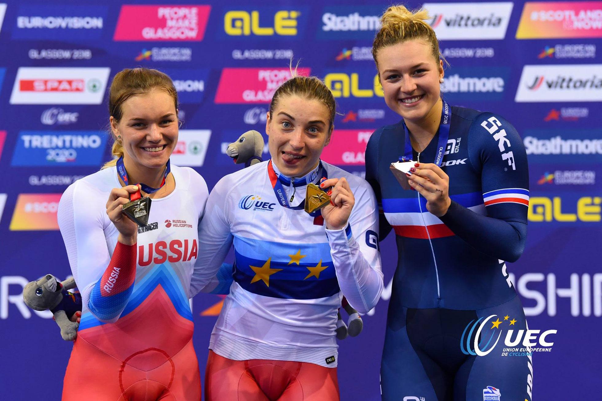 UECトラックヨーロッパ選手権2018・女子スプリント