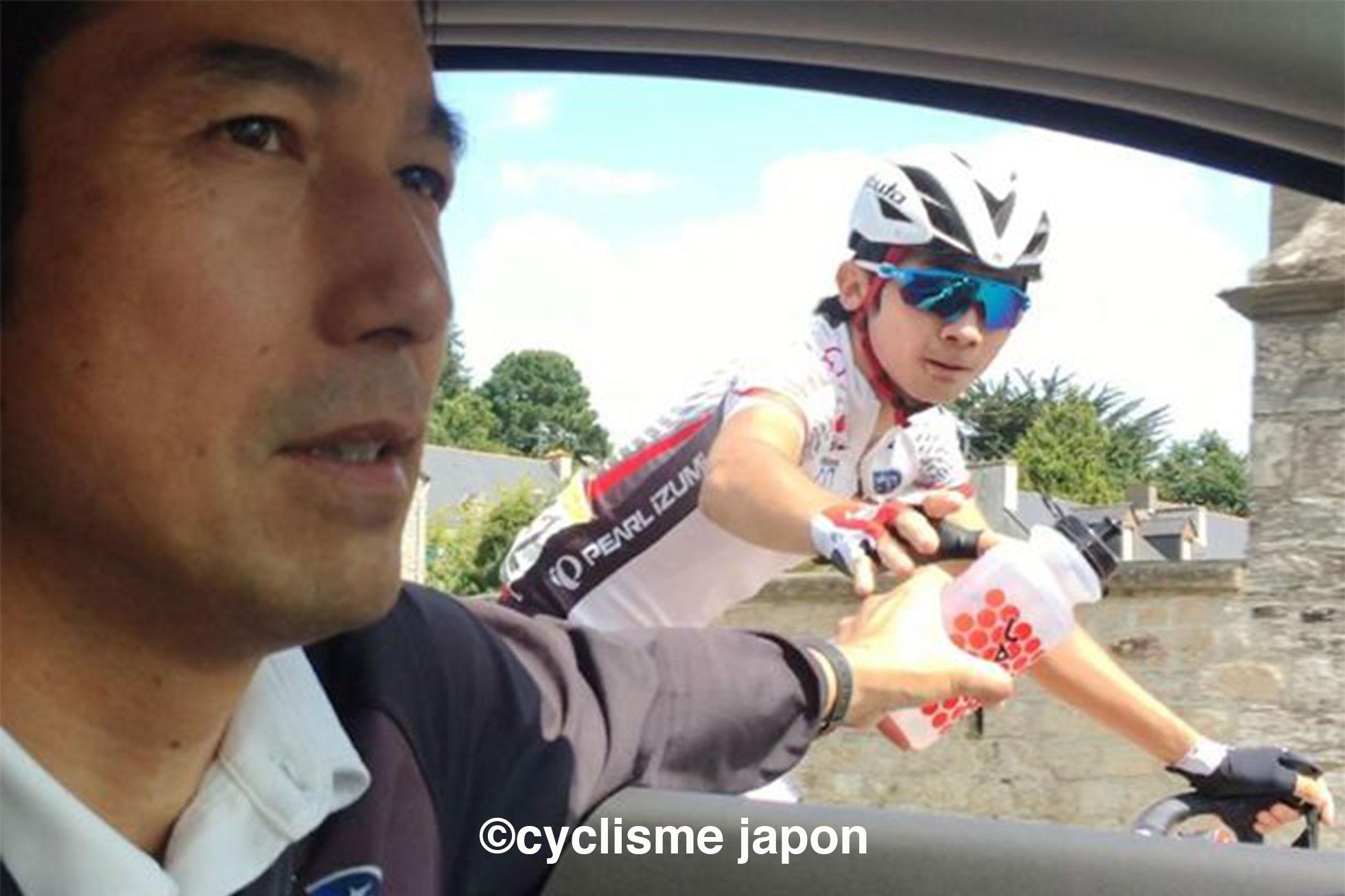 ロード日本ナショナルチーム監督の浅田顕