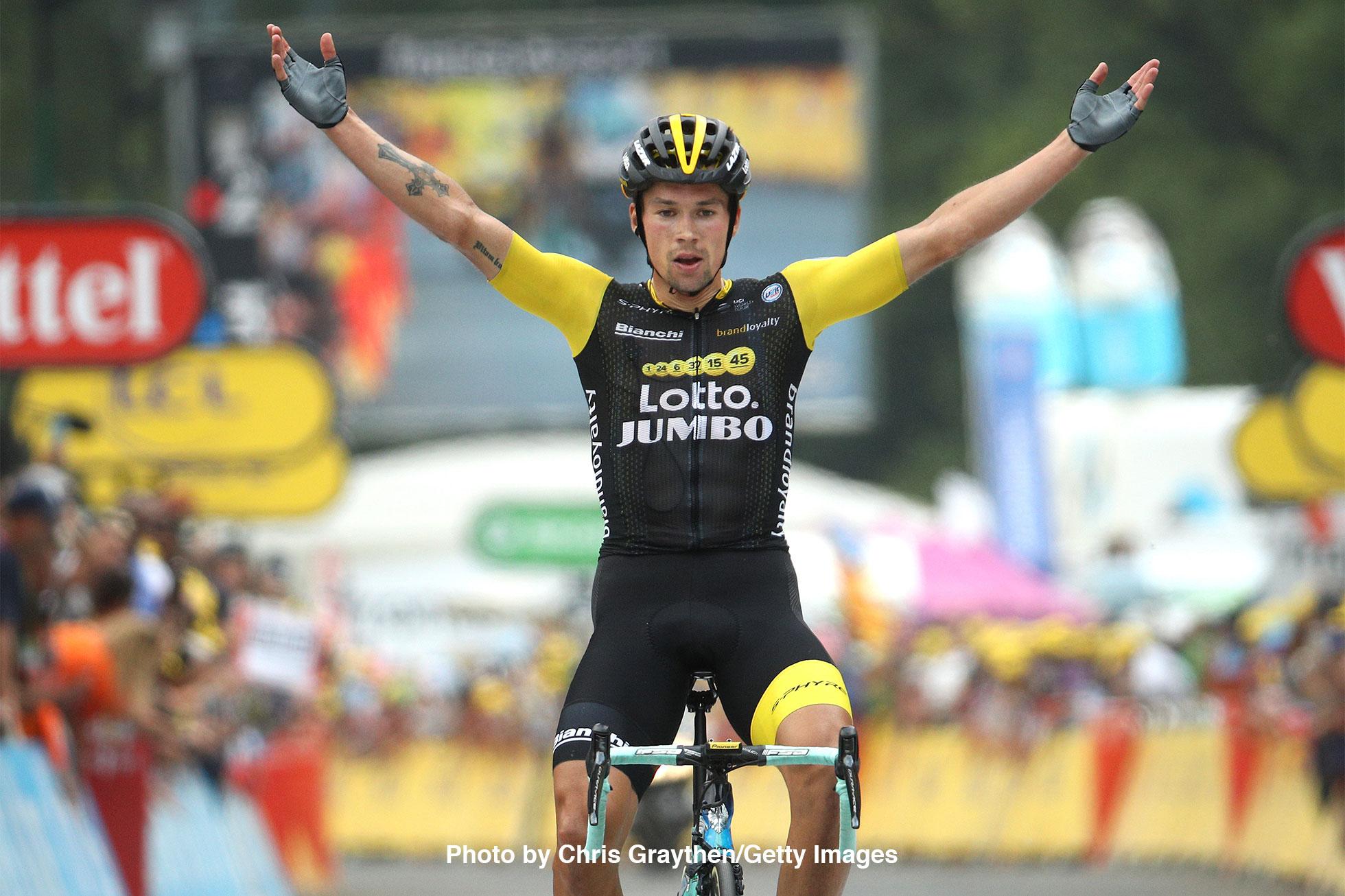 2018ツール・ド・フランス第19ステージ優勝のプリモシュ・ログリッチ