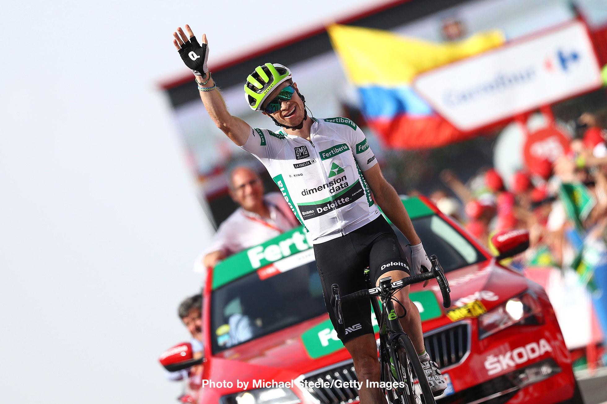 ブエルタ・ア・エスパーニャ2018 第9ステージ勝利のベンジャミン・キング