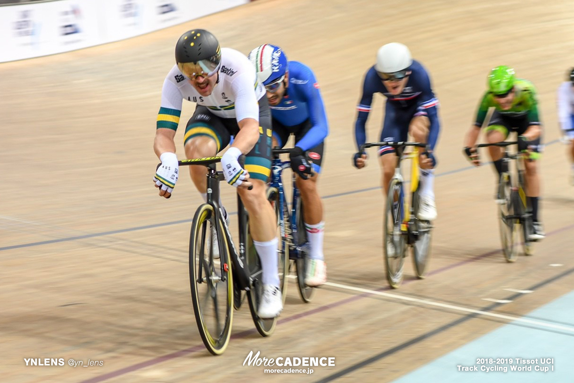 2018-2019 TRACK CYCLING WORLD CUP I Men's Scratch Race