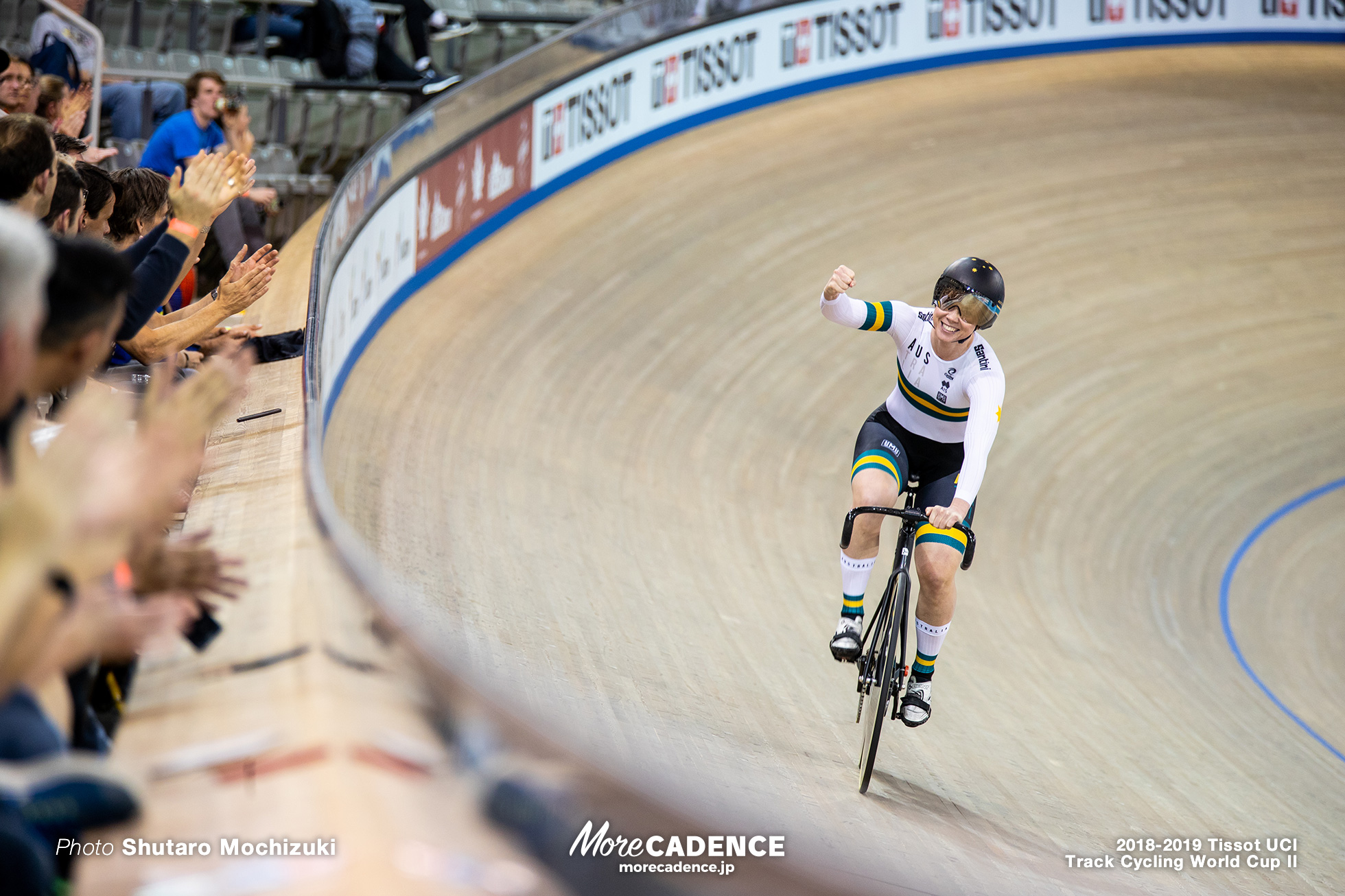 2018-2019 Tissot UCI Track Cycling World Cup II Women's Team Sprint Final