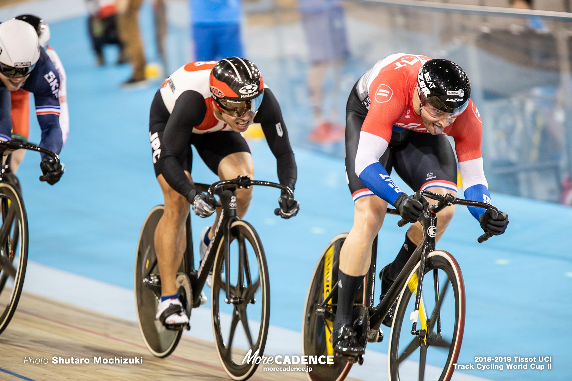 2018-2019 Tissot UCI Track Cycling World Cup II Men's Keirin Qualifying Heat3
