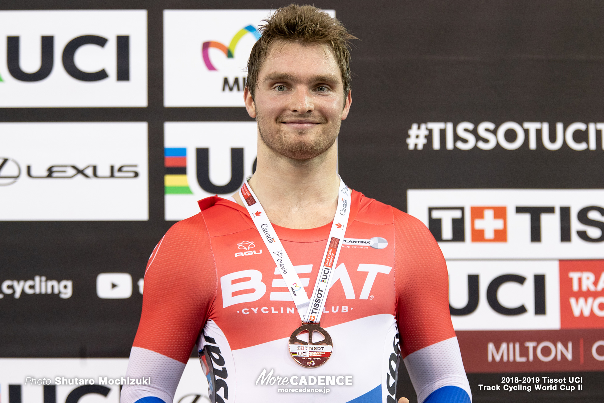 2018-2019 Tissot UCI Track Cycling World Cup II Men's Keirin Final