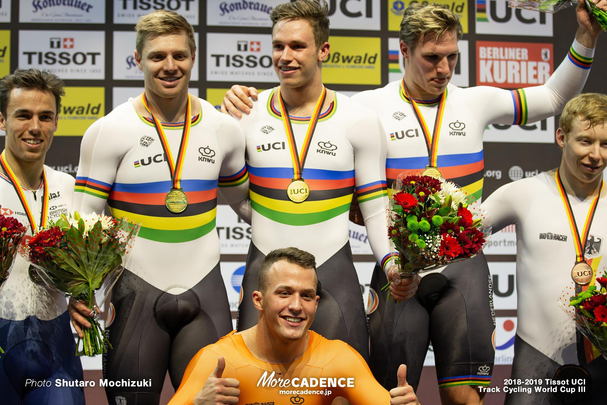 Netherland/Men's Team Sprint/2018-2019 Track Cycling World Cup III Berlin