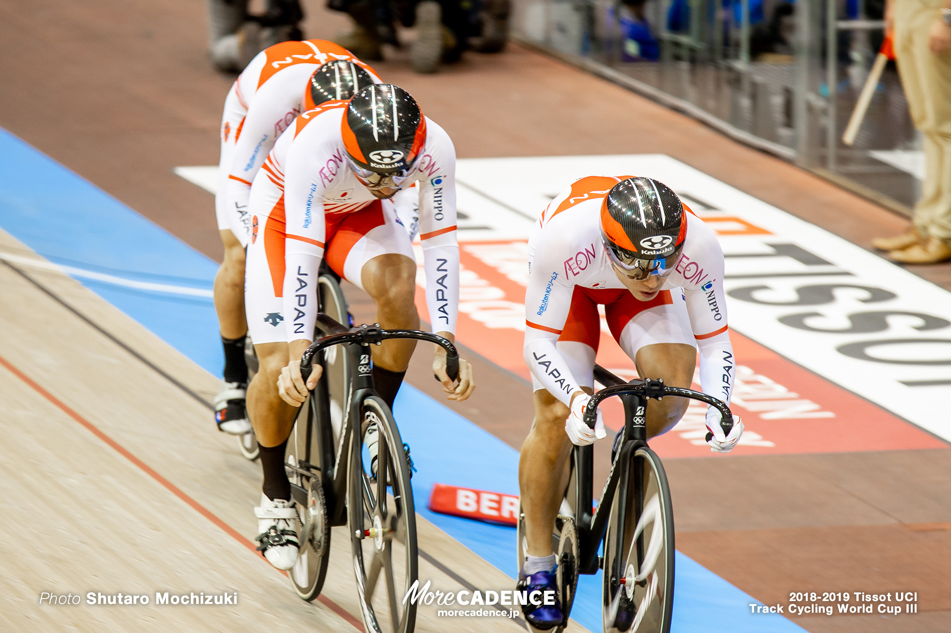 Japan/Men's Team Sprint/2018-2019 Track Cycling World Cup III Berlin