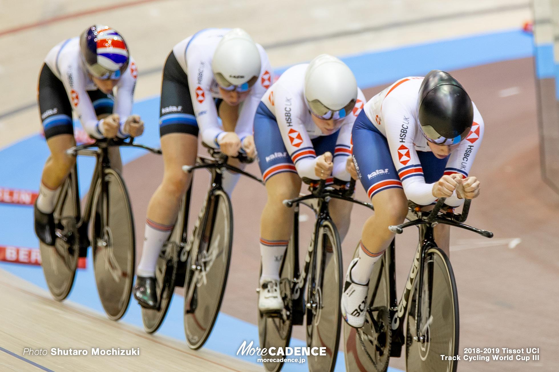 Women's Team Purusuit/2018-2019 Track Cycling World Cup III Berlin