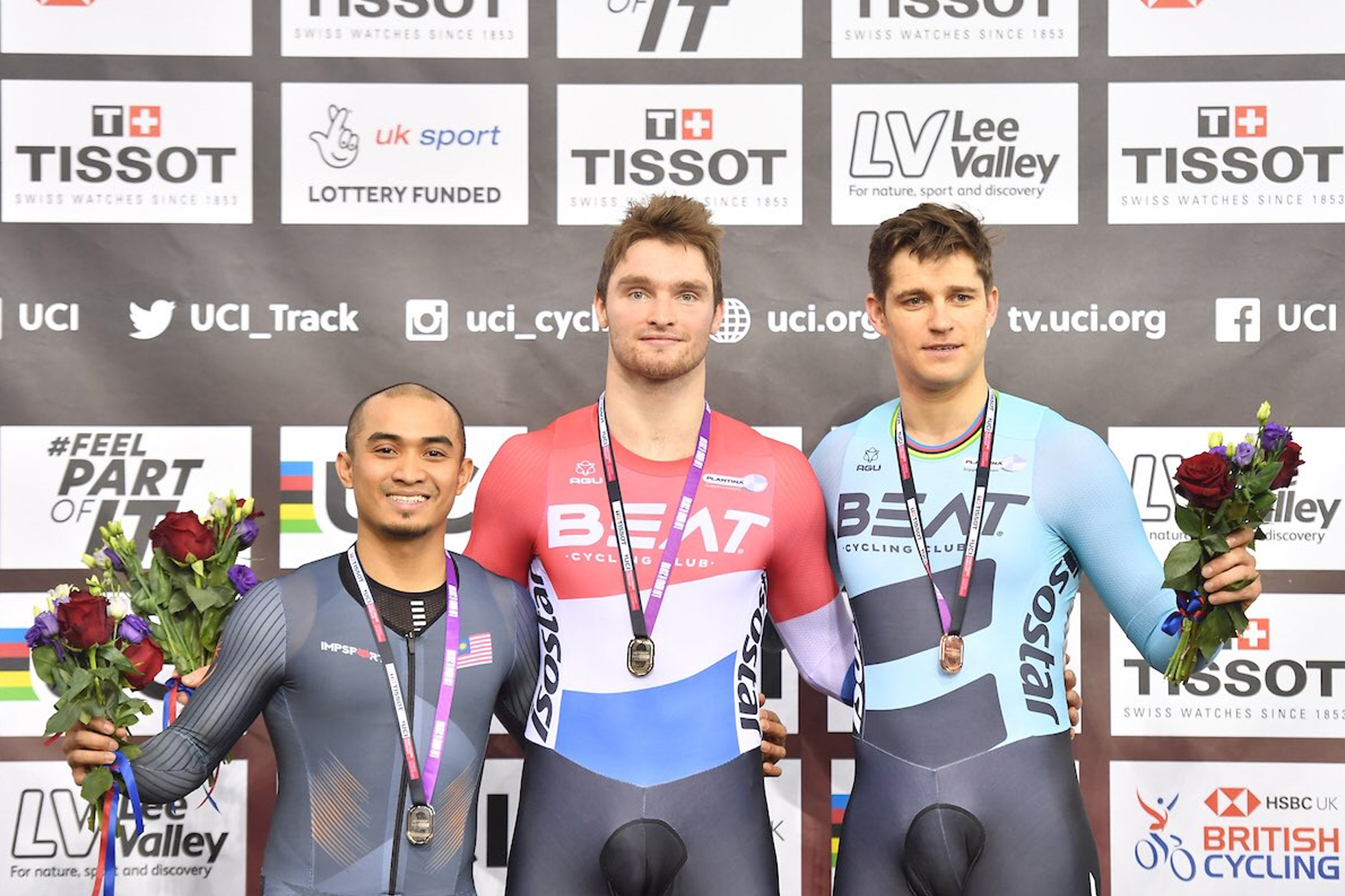 Men's Keirin/Final/2018-2019 Track Cycling World Cup IV London