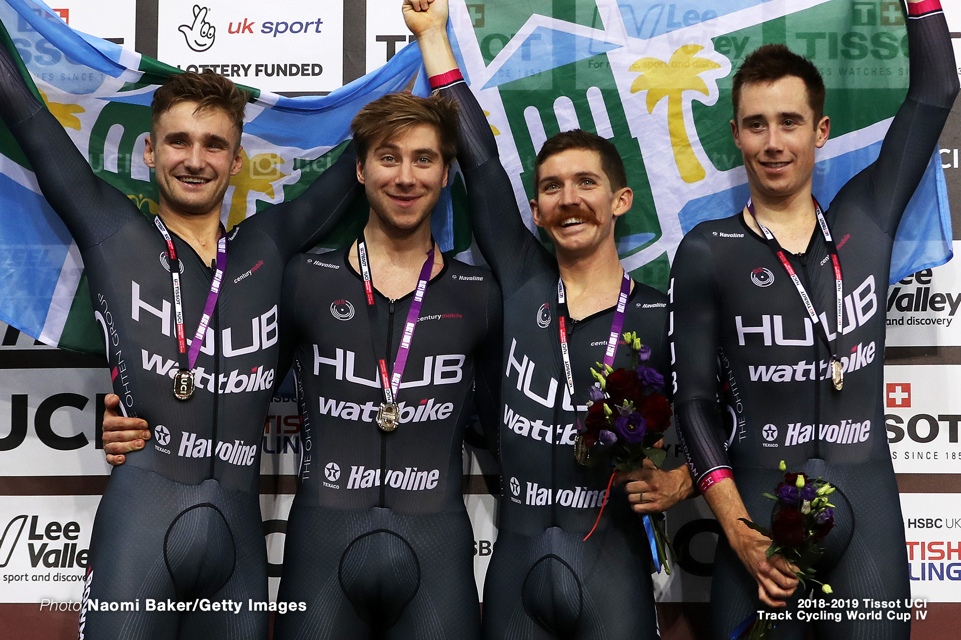 Men's Team Pursuit/Final/2018-2019 Track Cycling World Cup IV London