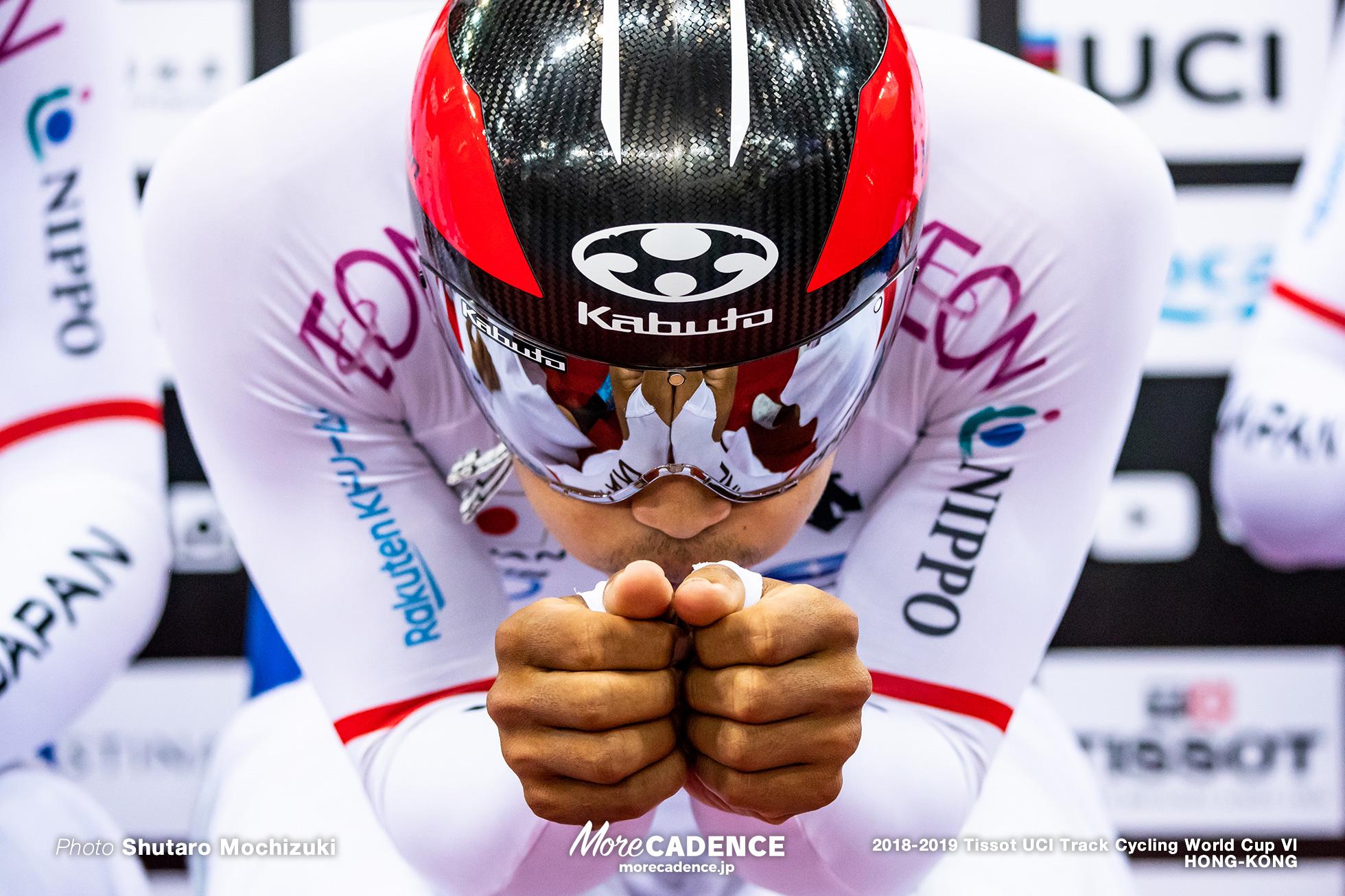 Qualifying / Men's Team Pursuit / Track Cycling World Cup VI / Hong-Kong