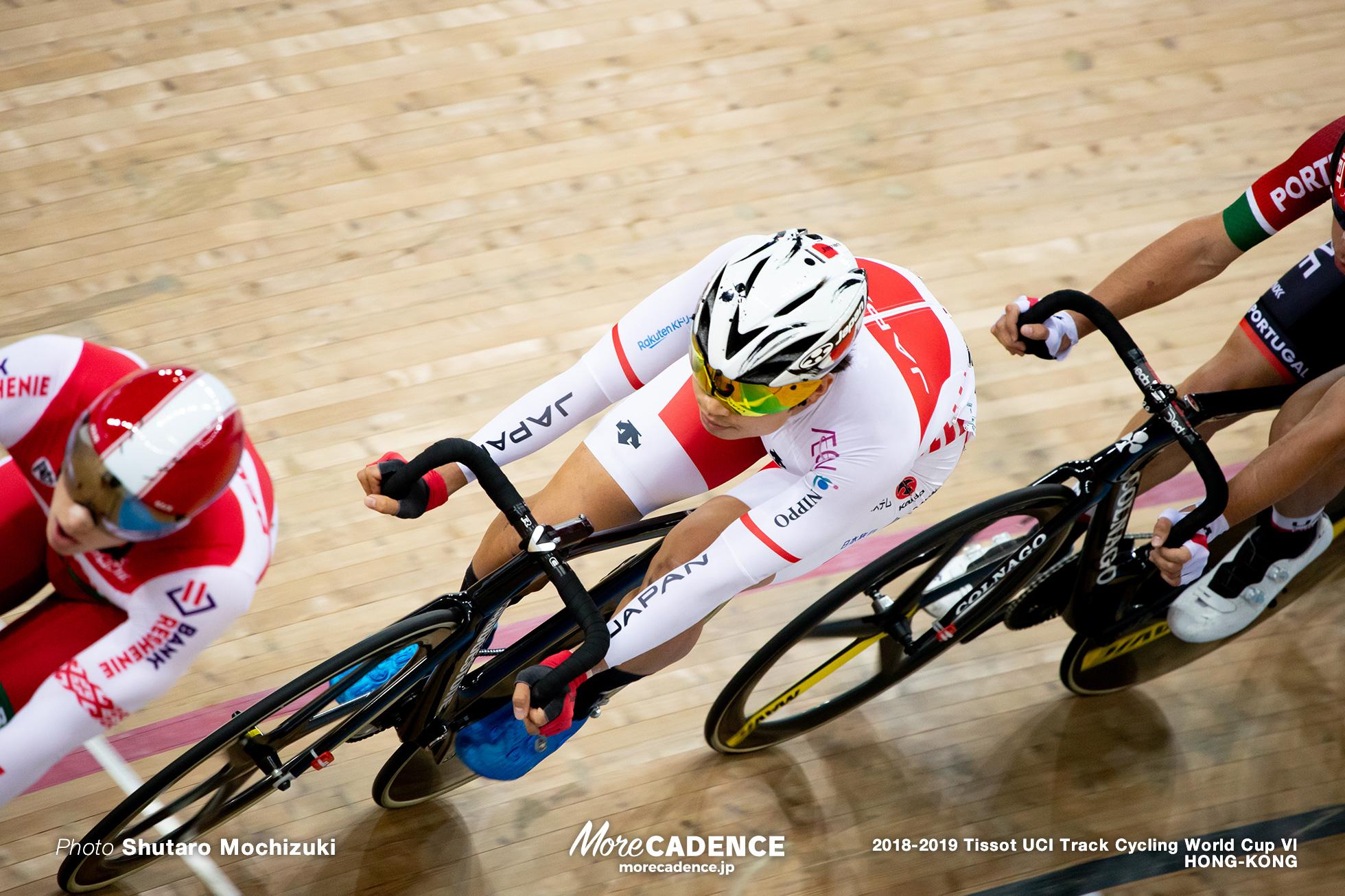 Point Race / Men's Omnium / Track Cycling World Cup VI / Hong-Kong