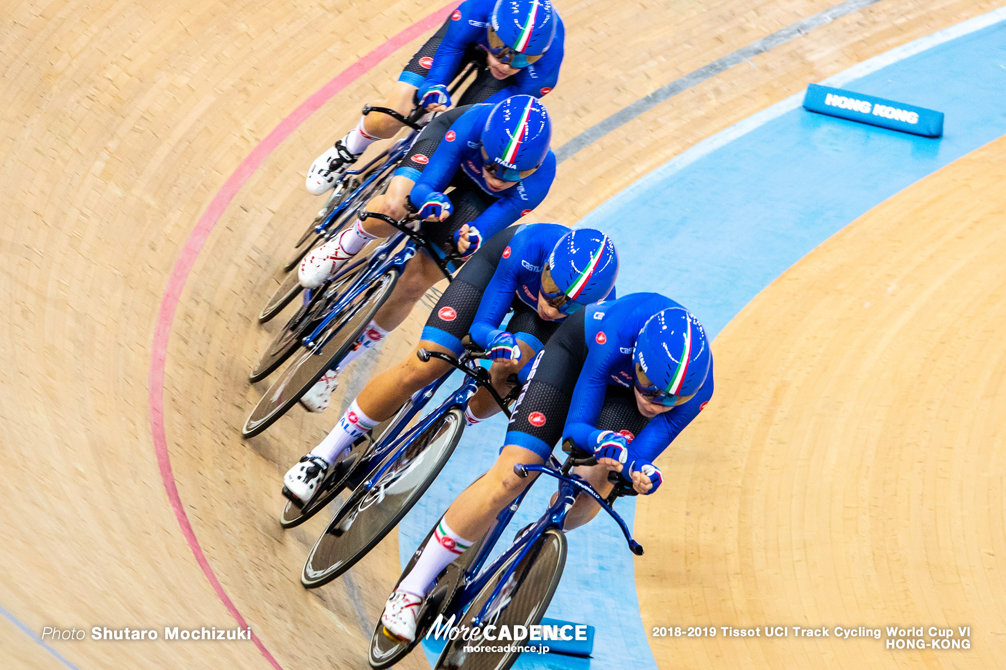 Final / Women's Team Pursuit / Track Cycling World Cup VI / Hong-Kong