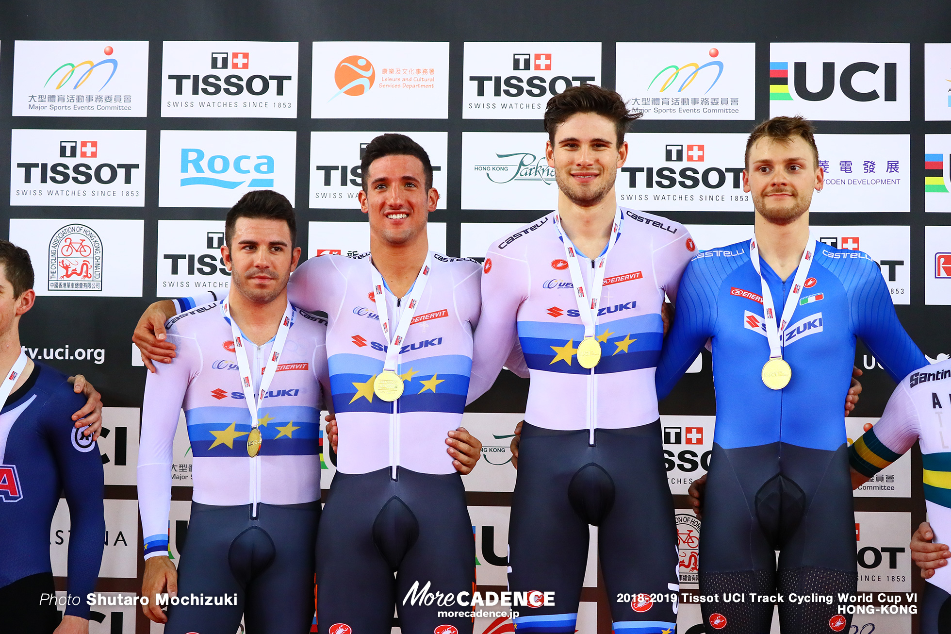 Final / Men's Team Pursuit / Track Cycling World Cup VI / Hong-Kong