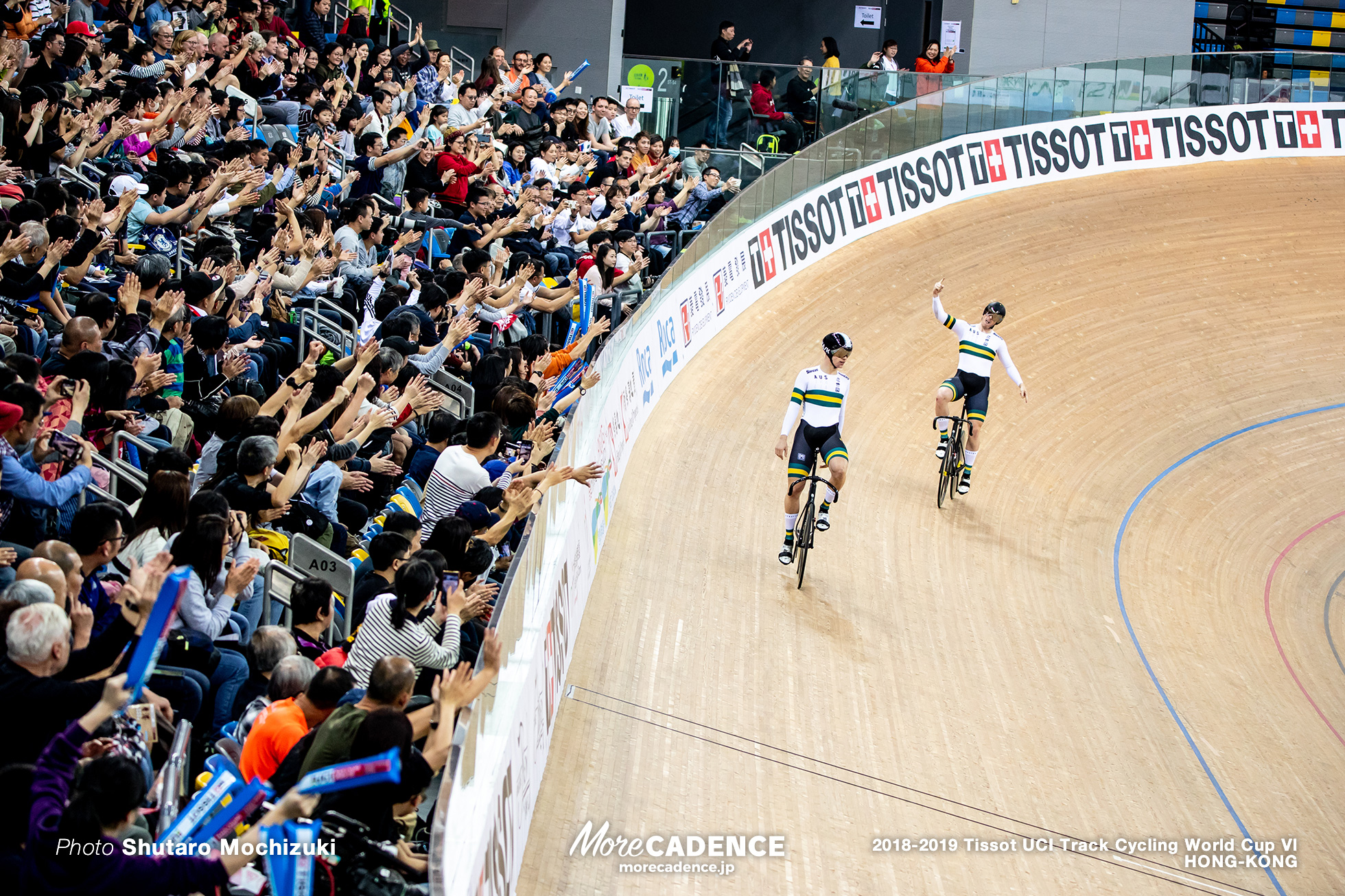 Final / Men's Sprint / Track Cycling World Cup VI / Hong-Kong