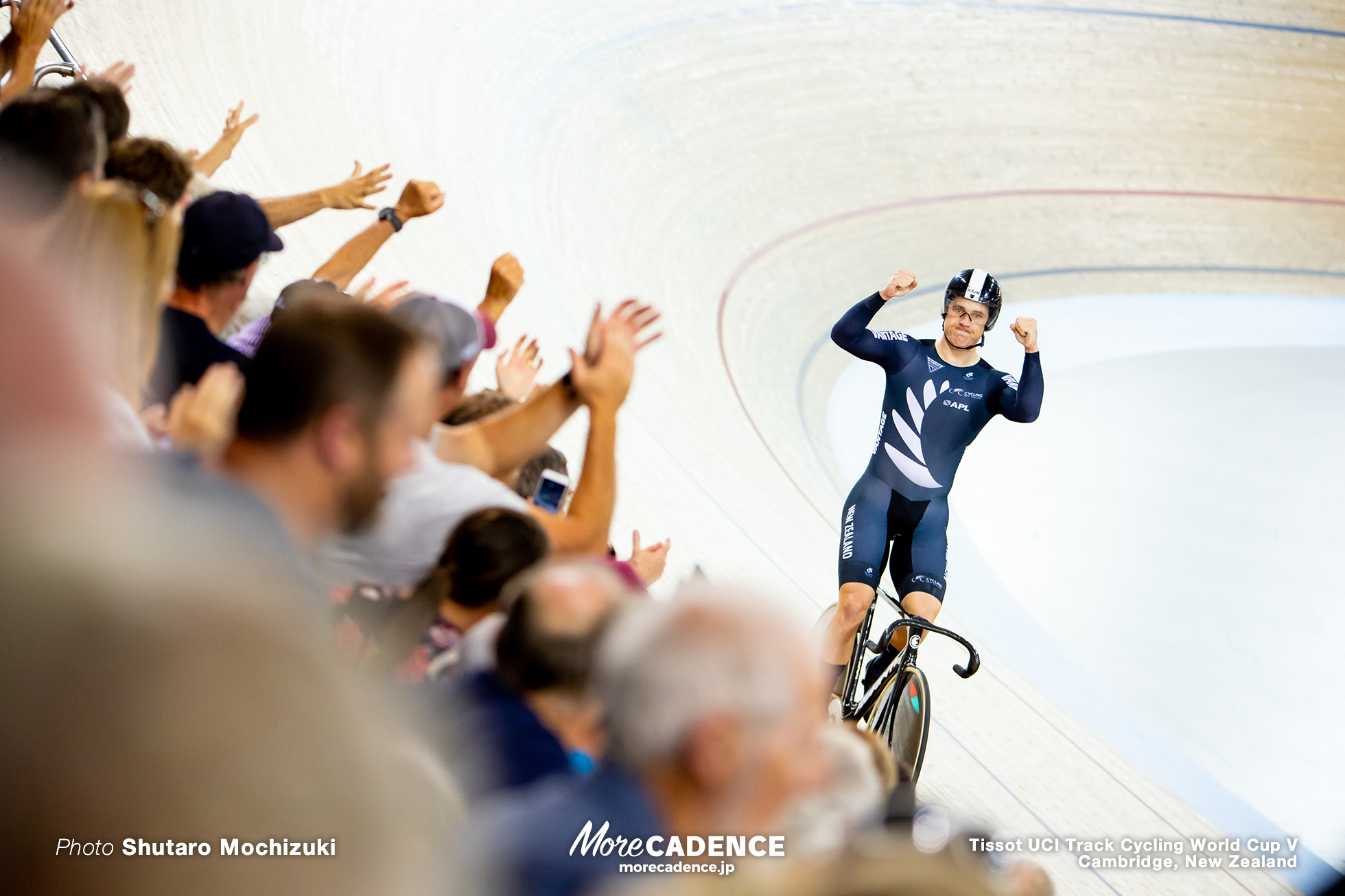 Final / Men's Team Sprint / Track Cycling World Cup V / Cambridge, New Zealand