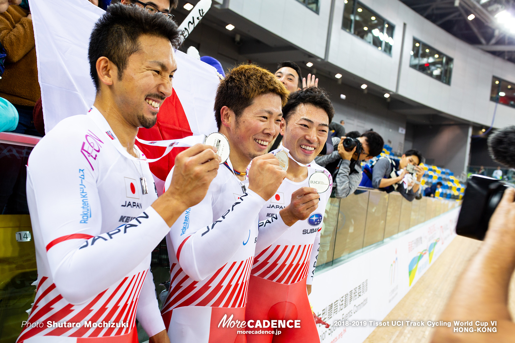 Final / Men's Team Sprint / Track Cycling World Cup VI / Hong-Kong