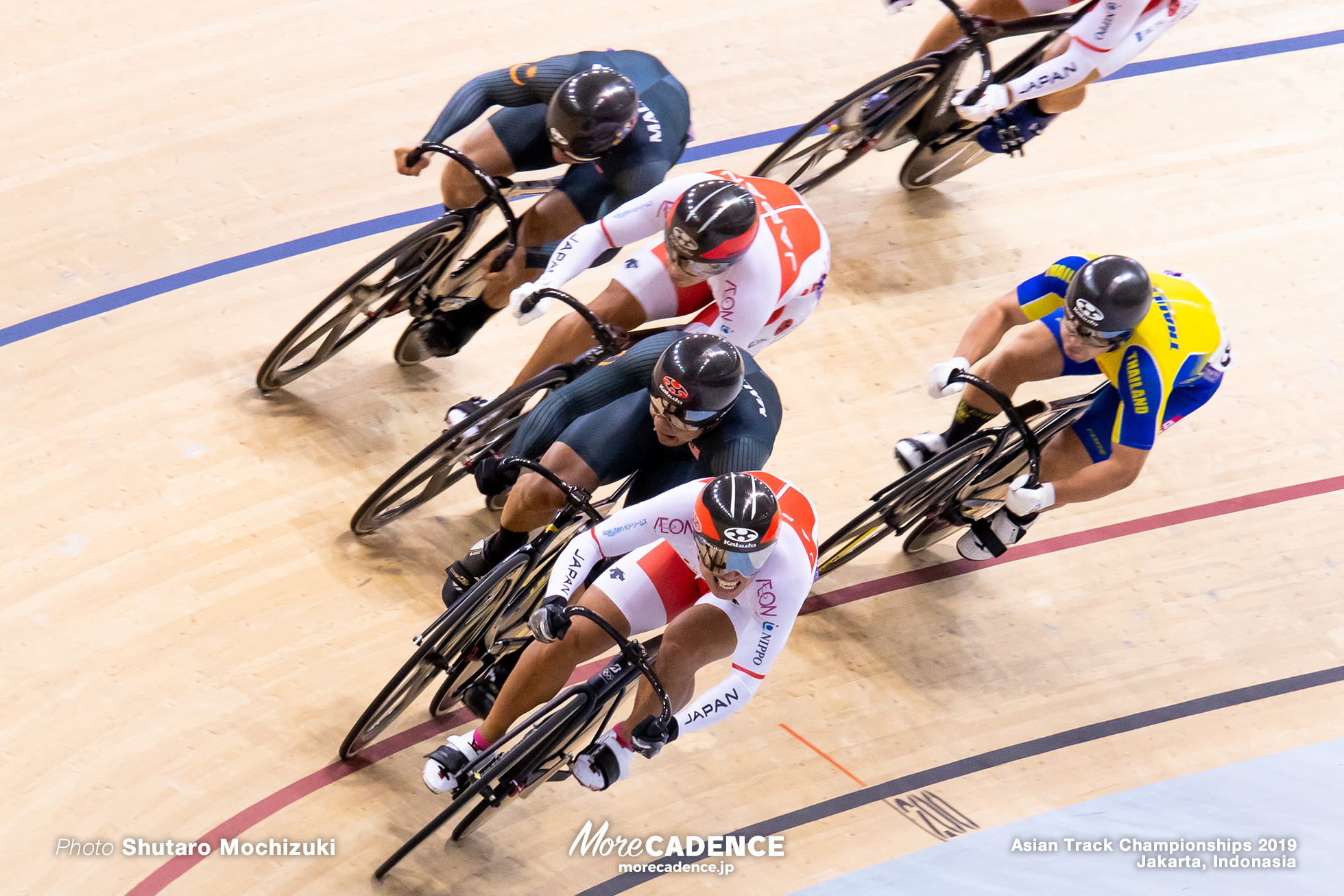 Men's Elite Keirin Final / Asian Championships Track 2019 Jakarta