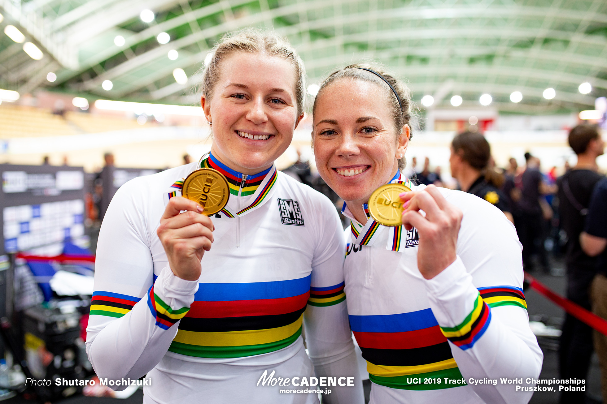 Women's Team Sprint Final / 2019 Track Cycling World Championships Pruszków, Poland