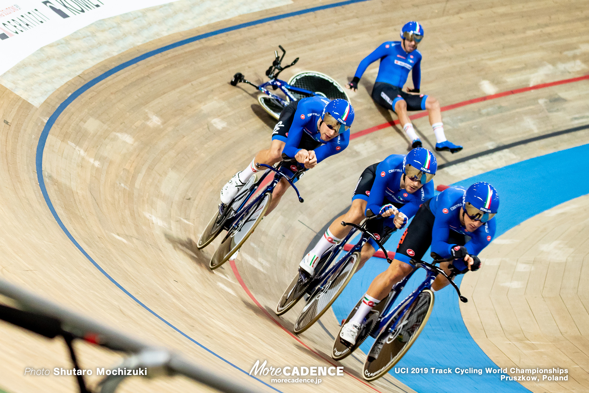 Men's Team Pursuit / 2019 Track Cycling World Championships Pruszków, Poland