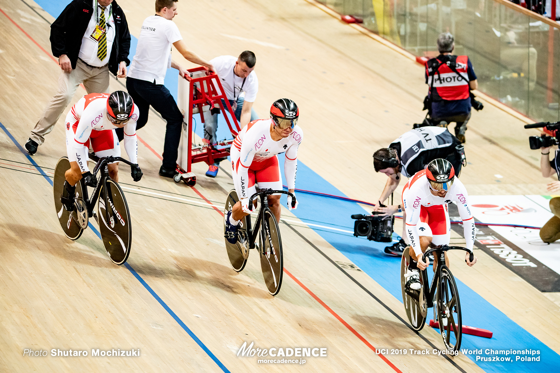 Men's Team Sprint / 2019 Track Cycling World Championships Pruszków, Poland