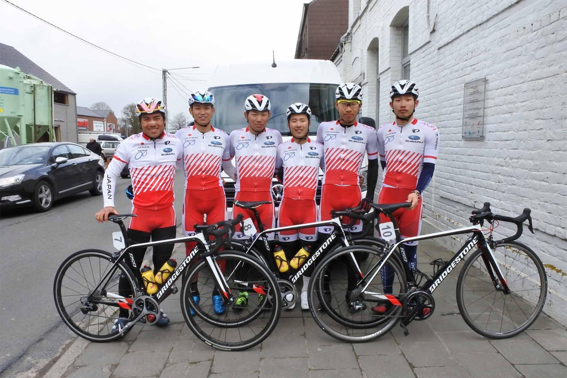 U23 Road 欧州遠征第1戦