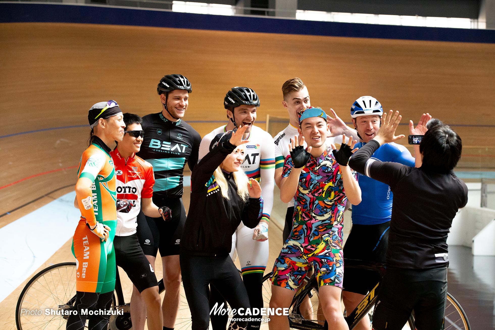 世界王者達と自転車系ユーチューバーが対決