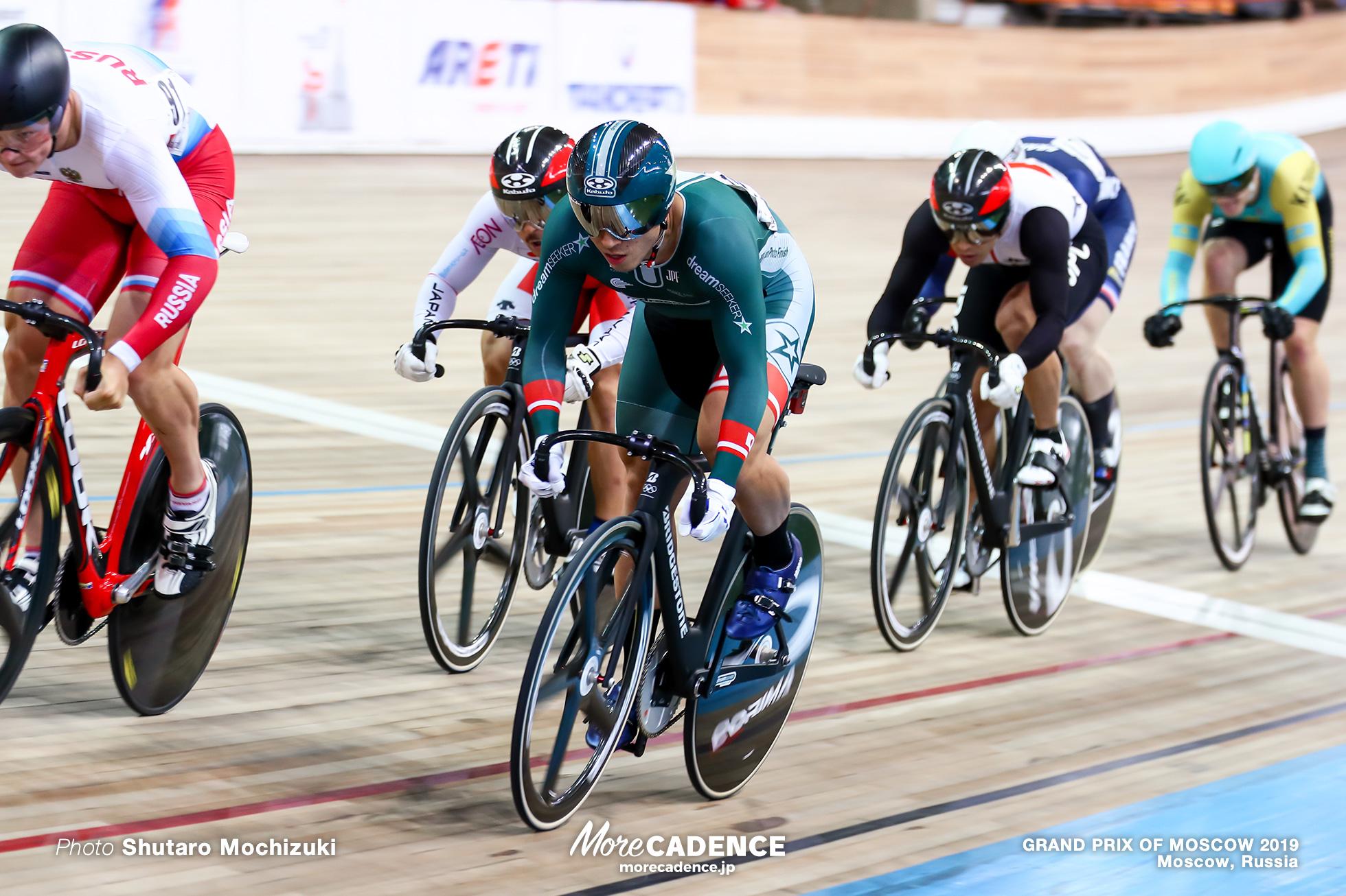 Semi Finals / Men's Keirin / GRAND PRIX OF MOSCOW 2019