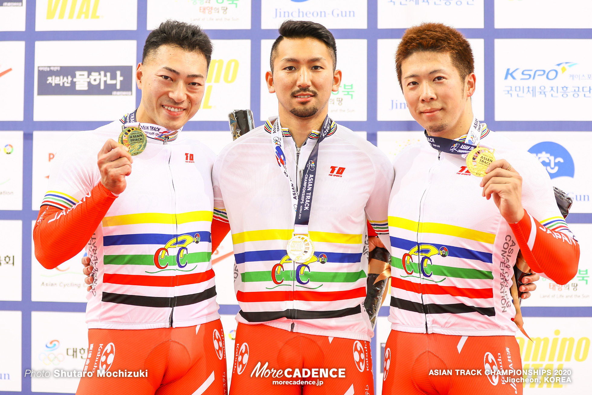 Awarding Ceremony / Men Elite Team Sprint / ASIAN TRACK CHAMPIONSHIPS 2020