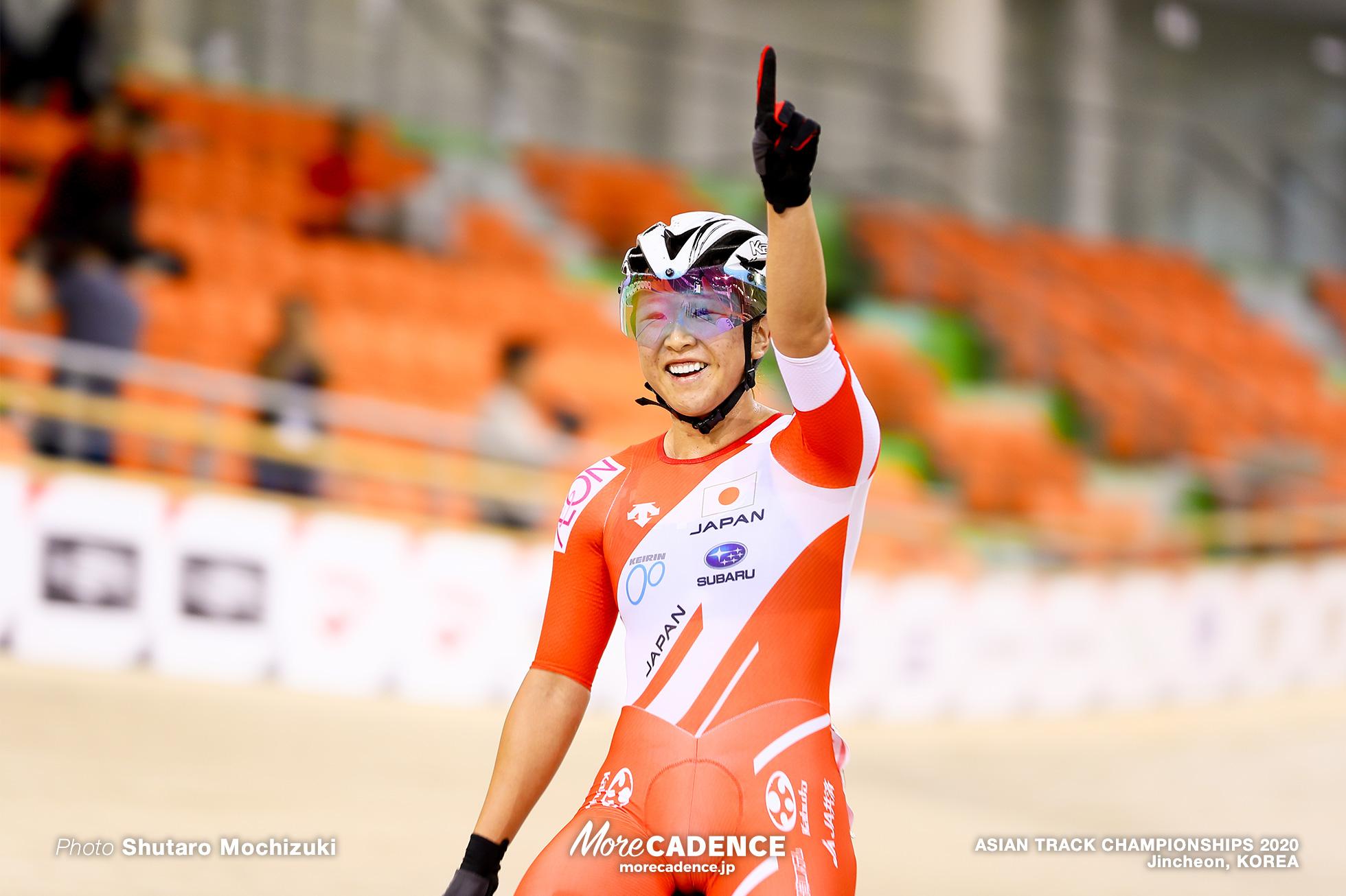 梶原悠未, Point Race / Women Omnium / ASIAN TRACK CHAMPIONSHIPS 2020