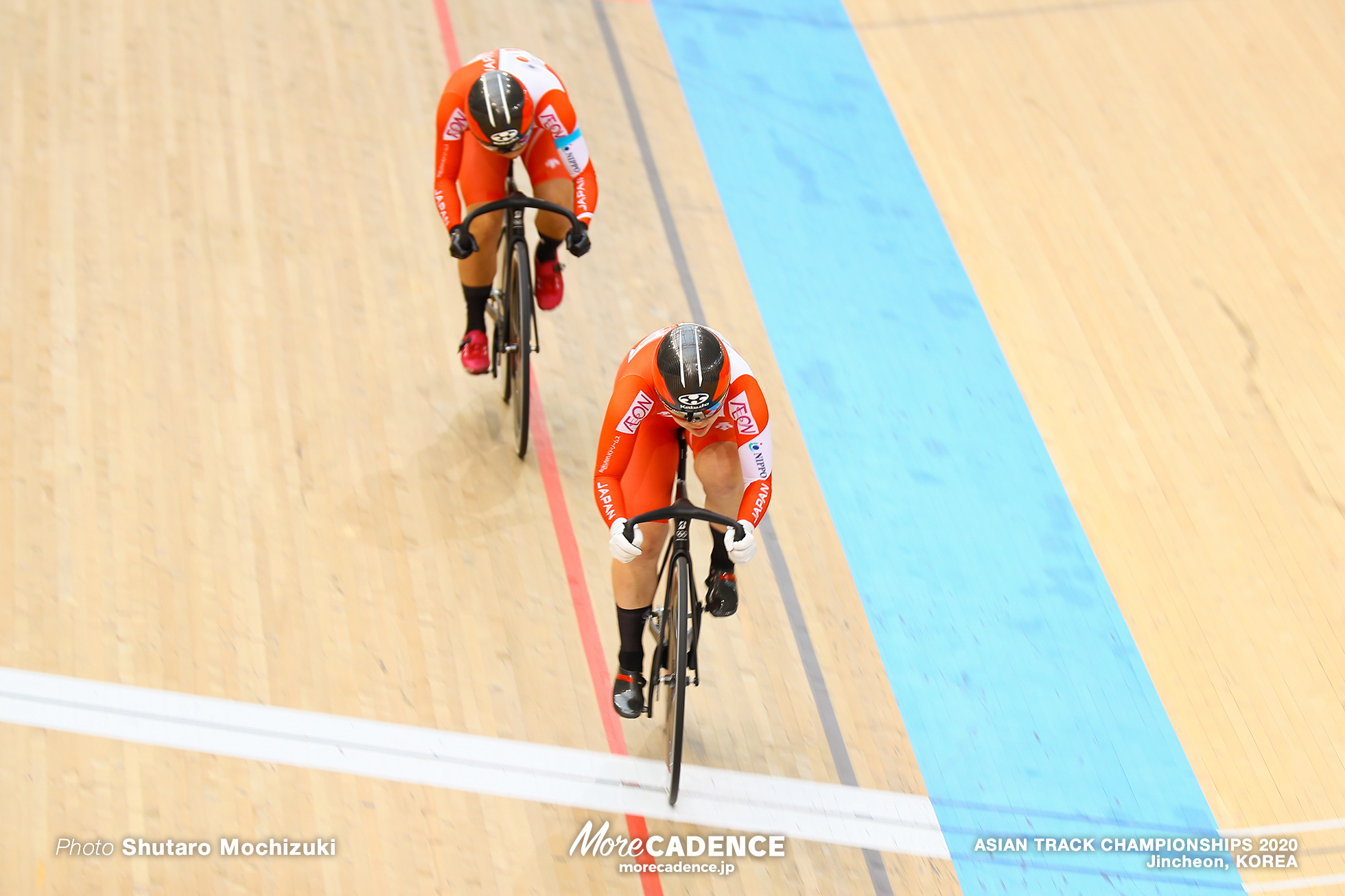Final for Bronze / Women Sprint / ASIAN TRACK CHAMPIONSHIPS 2020