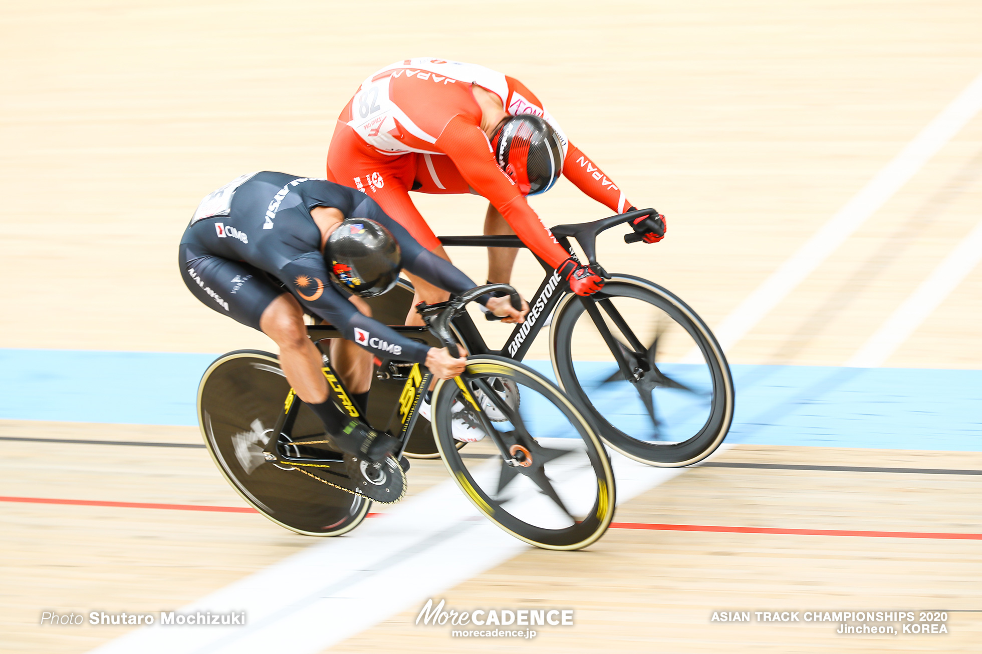 Final for Gold / Men Sprint/ ASIAN TRACK CHAMPIONSHIPS 2020