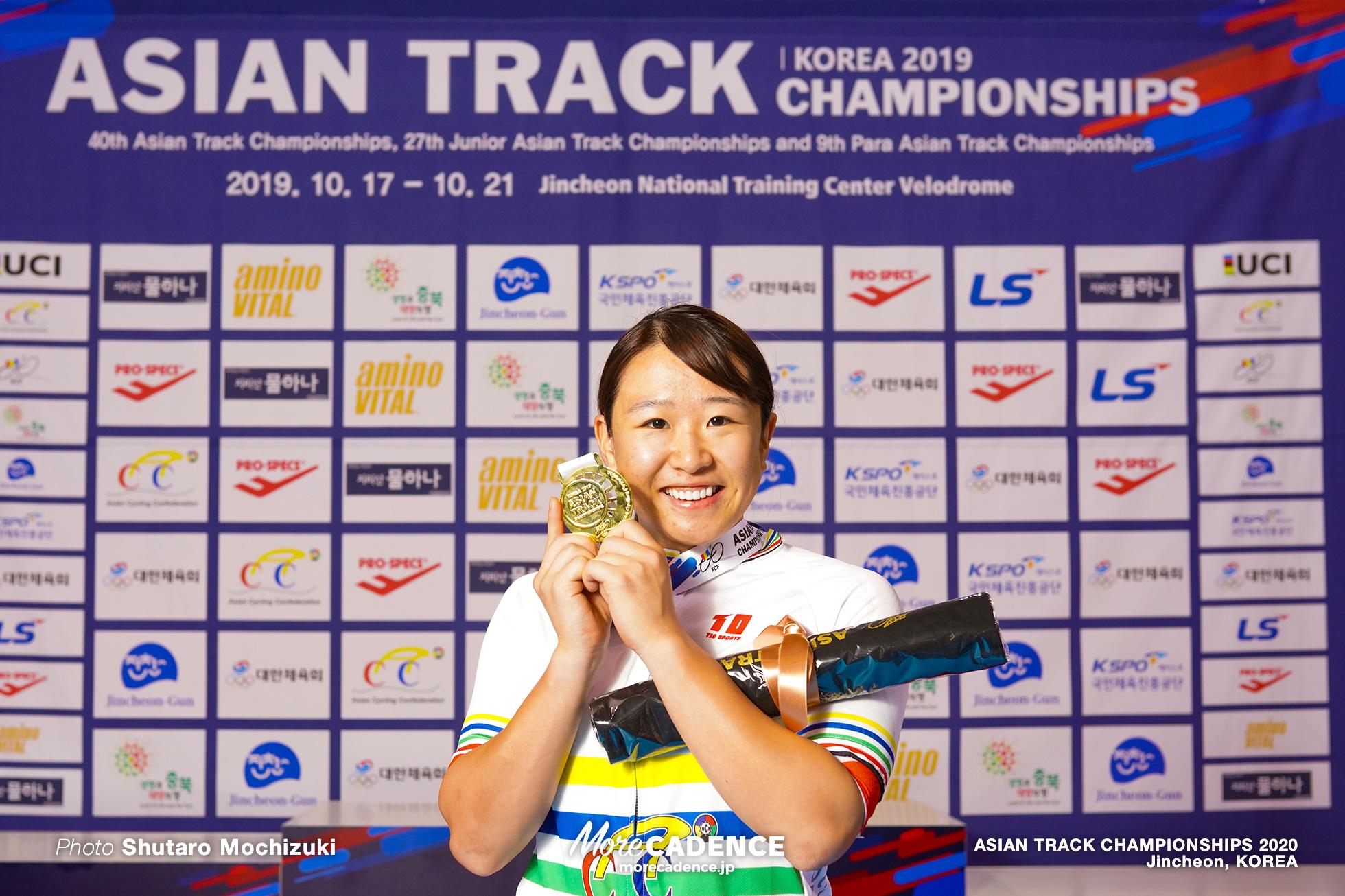 Point Race / Women Omnium / ASIAN TRACK CHAMPIONSHIPS 2020