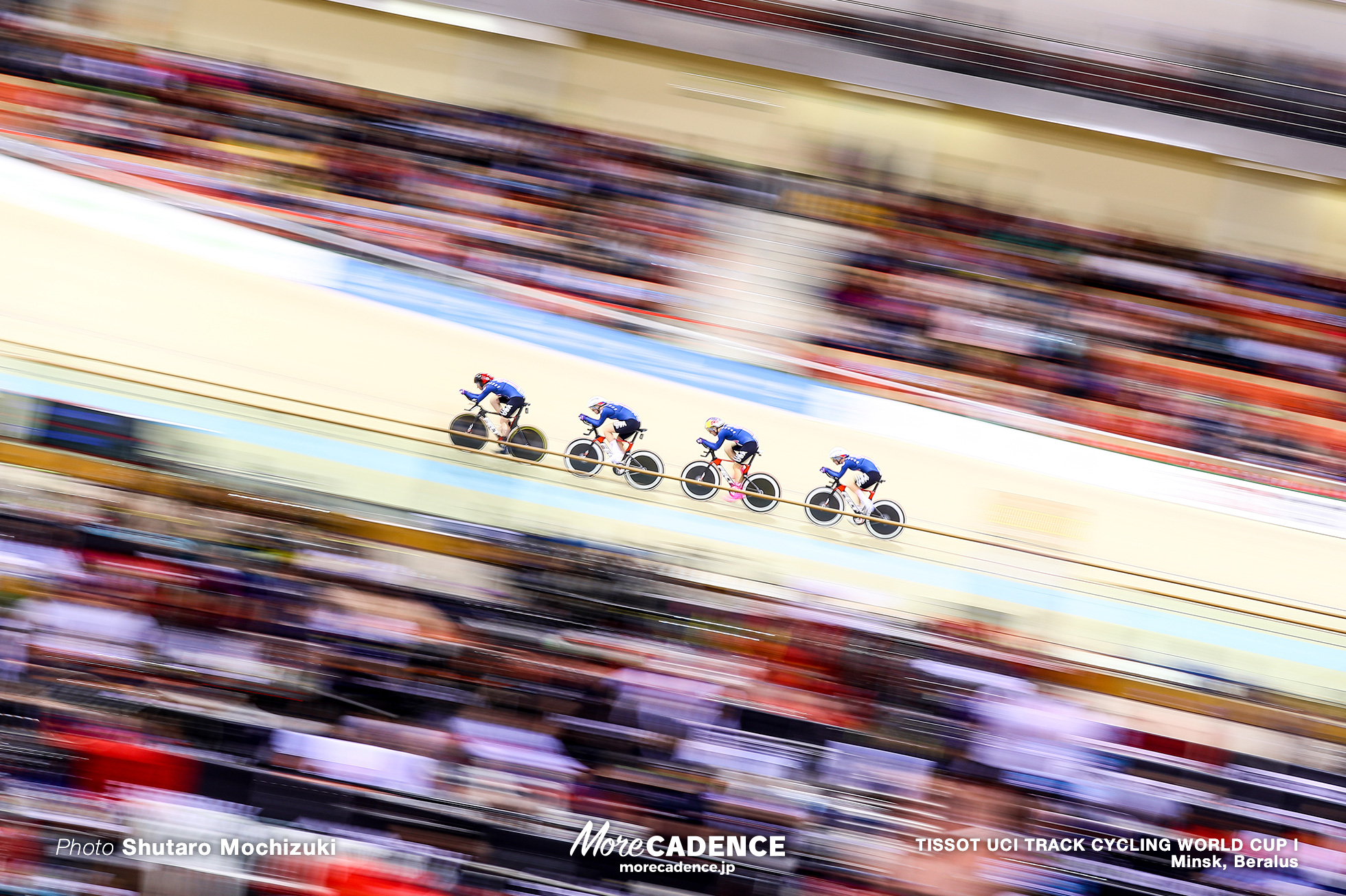Final / Women's Team Pursuit / TISSOT UCI TRACK CYCLING WORLD CUP I, Minsk, Beralus