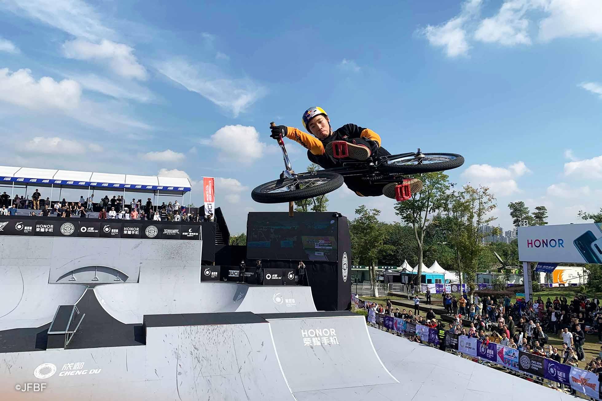 中村輪夢 BMX