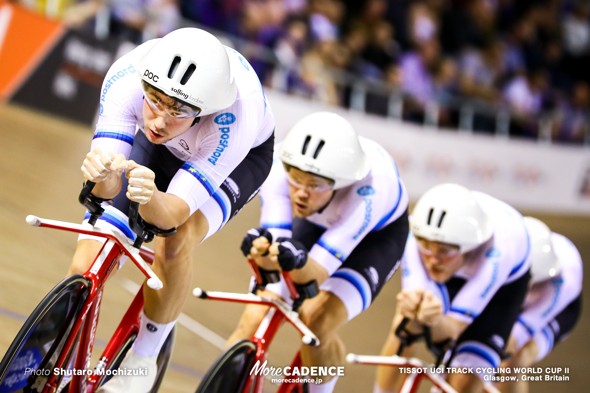 Denmark / Men's Team Pursuit / TISSOT UCI TRACK CYCLING WORLD CUP II, Glasgow, Great Britain