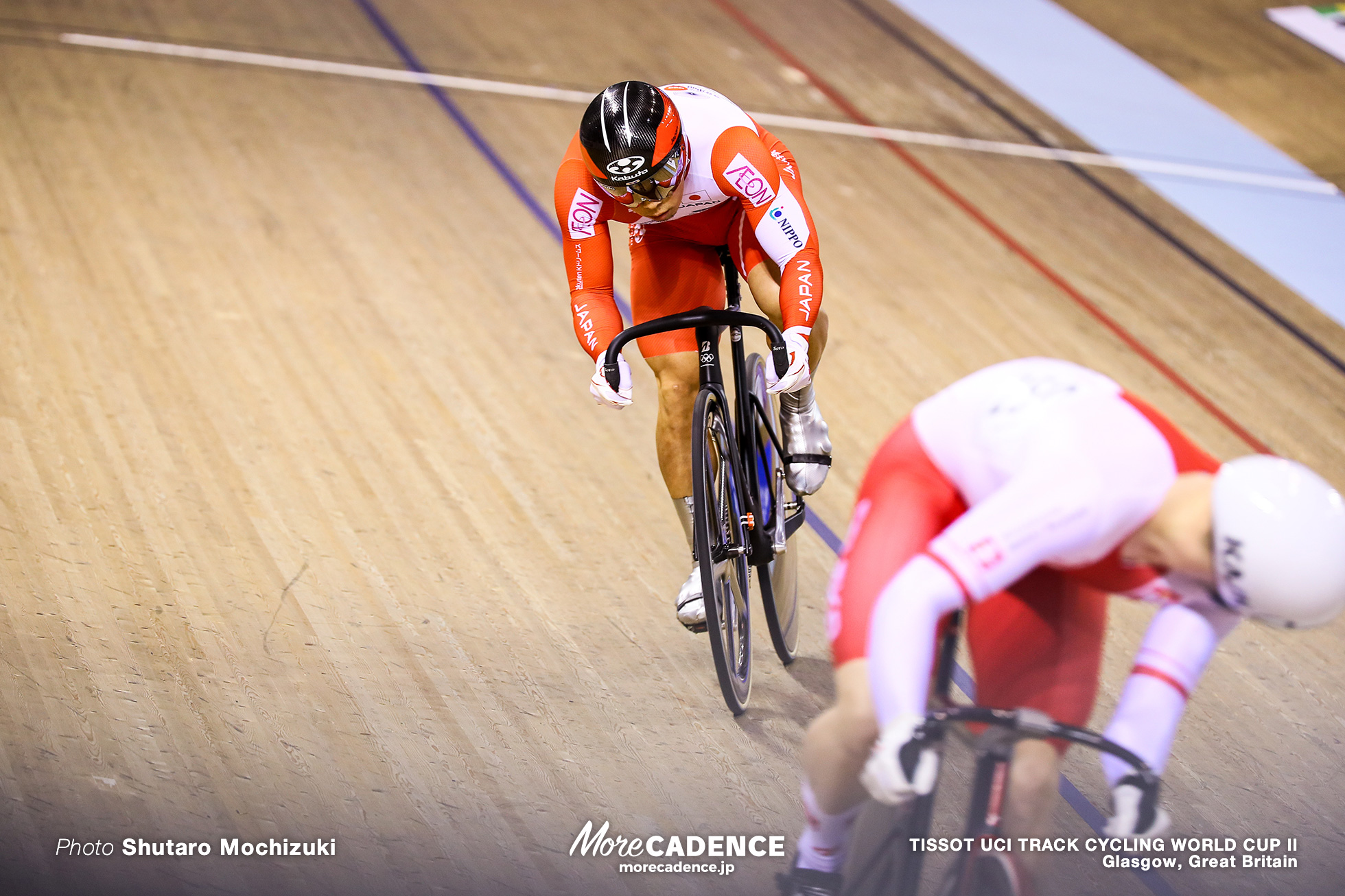 Final / Men's Sprint / TISSOT UCI TRACK CYCLING WORLD CUP II, Glasgow, Great Britain