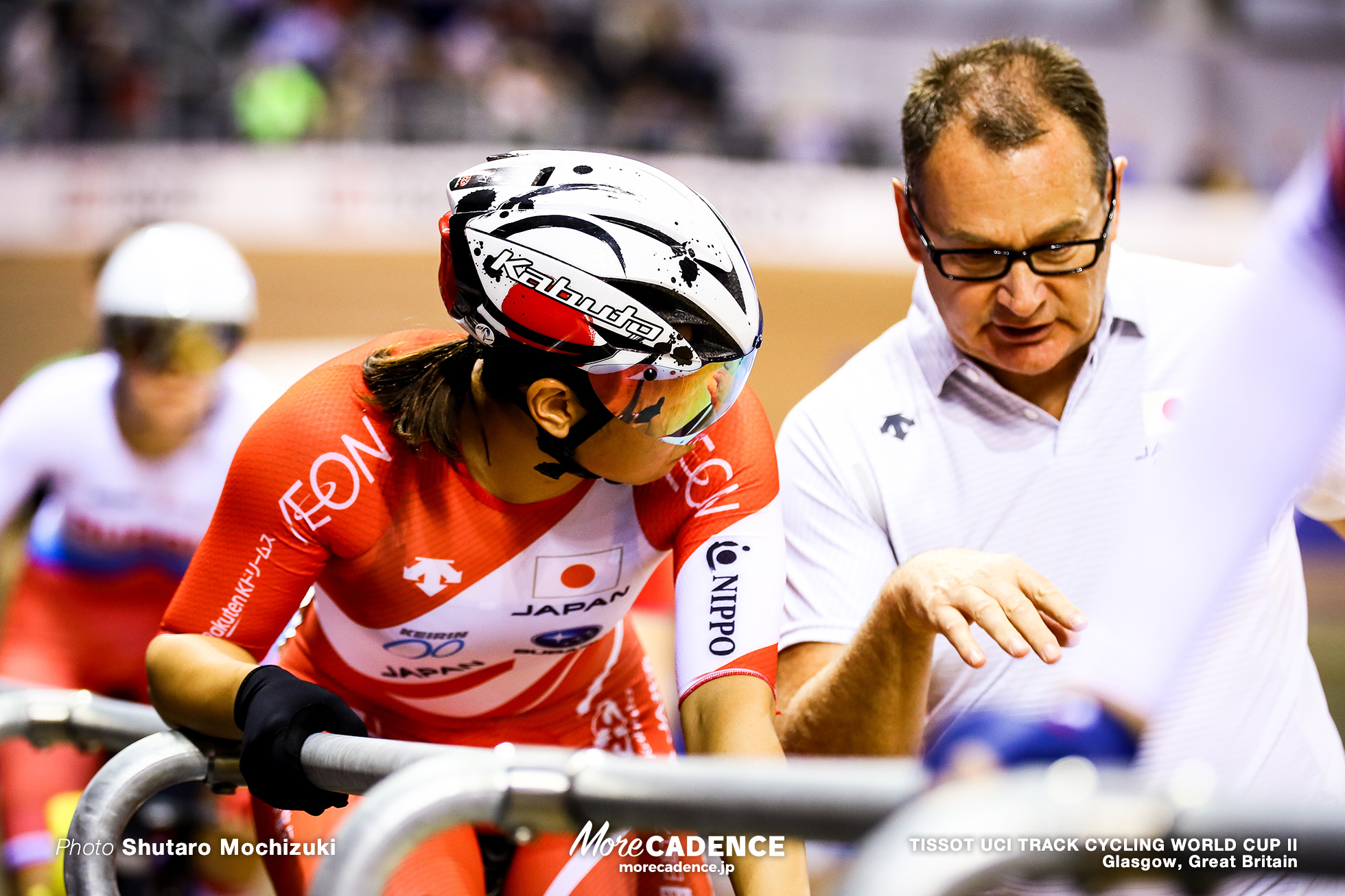 Women's Madison / TISSOT UCI TRACK CYCLING WORLD CUP II, Glasgow, Great Britain 梶原悠未