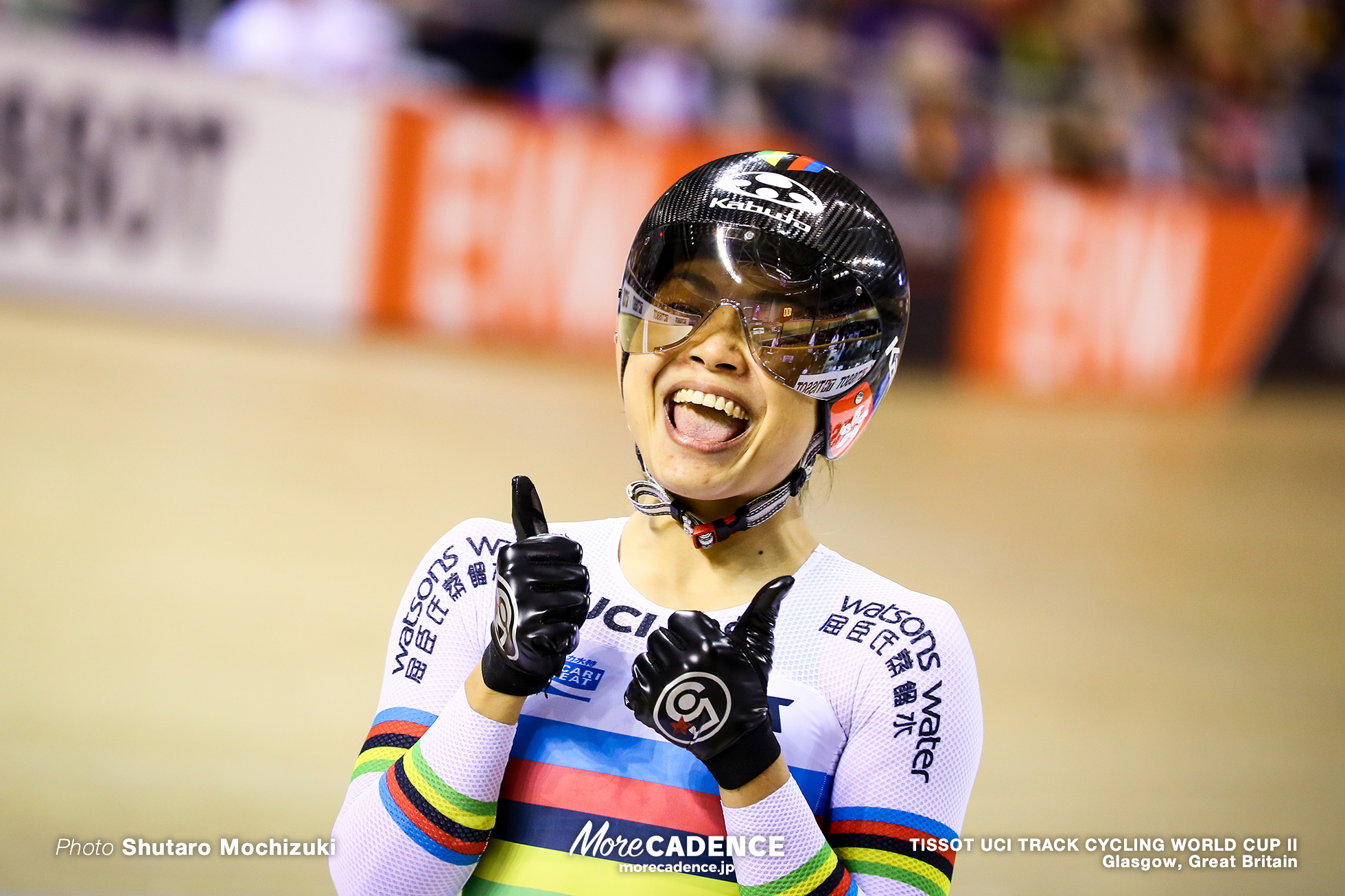 Lee Wai Sze (HKG), Final / Women's Sprint / TISSOT UCI TRACK CYCLING WORLD CUP II, Glasgow, Great Britain リー・ワイジー 李慧詩