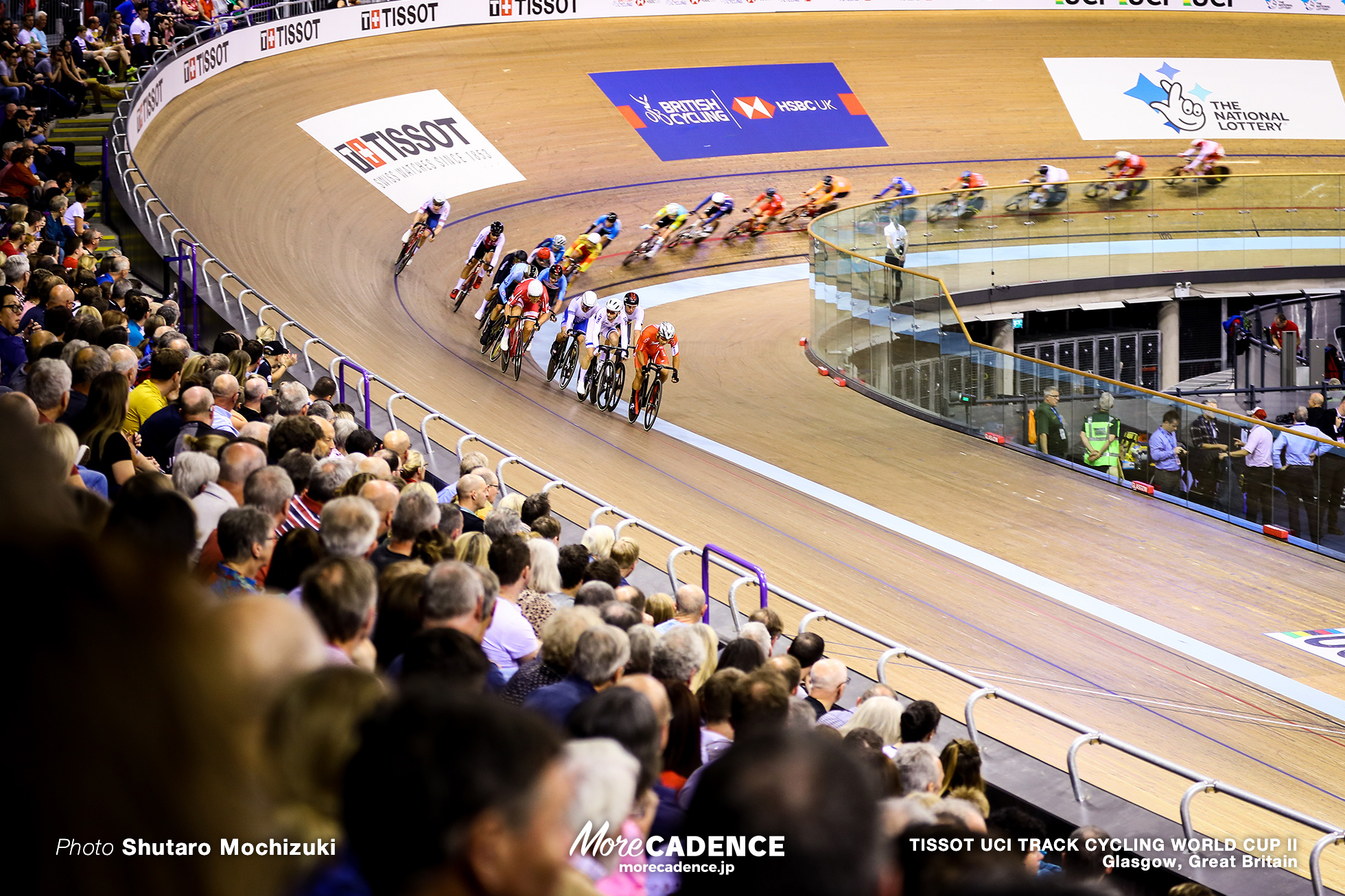 Point Race / Men's Omnium / TISSOT UCI TRACK CYCLING WORLD CUP II, Glasgow, Great Britain