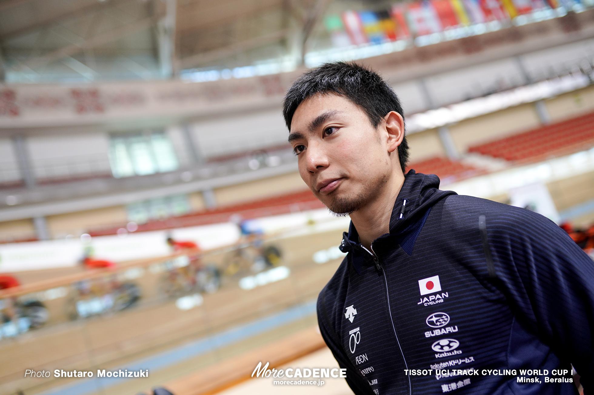 小原裕太, TISSOT UCI TRACK CYCLING WORLD CUP I, Minsk, Beralus