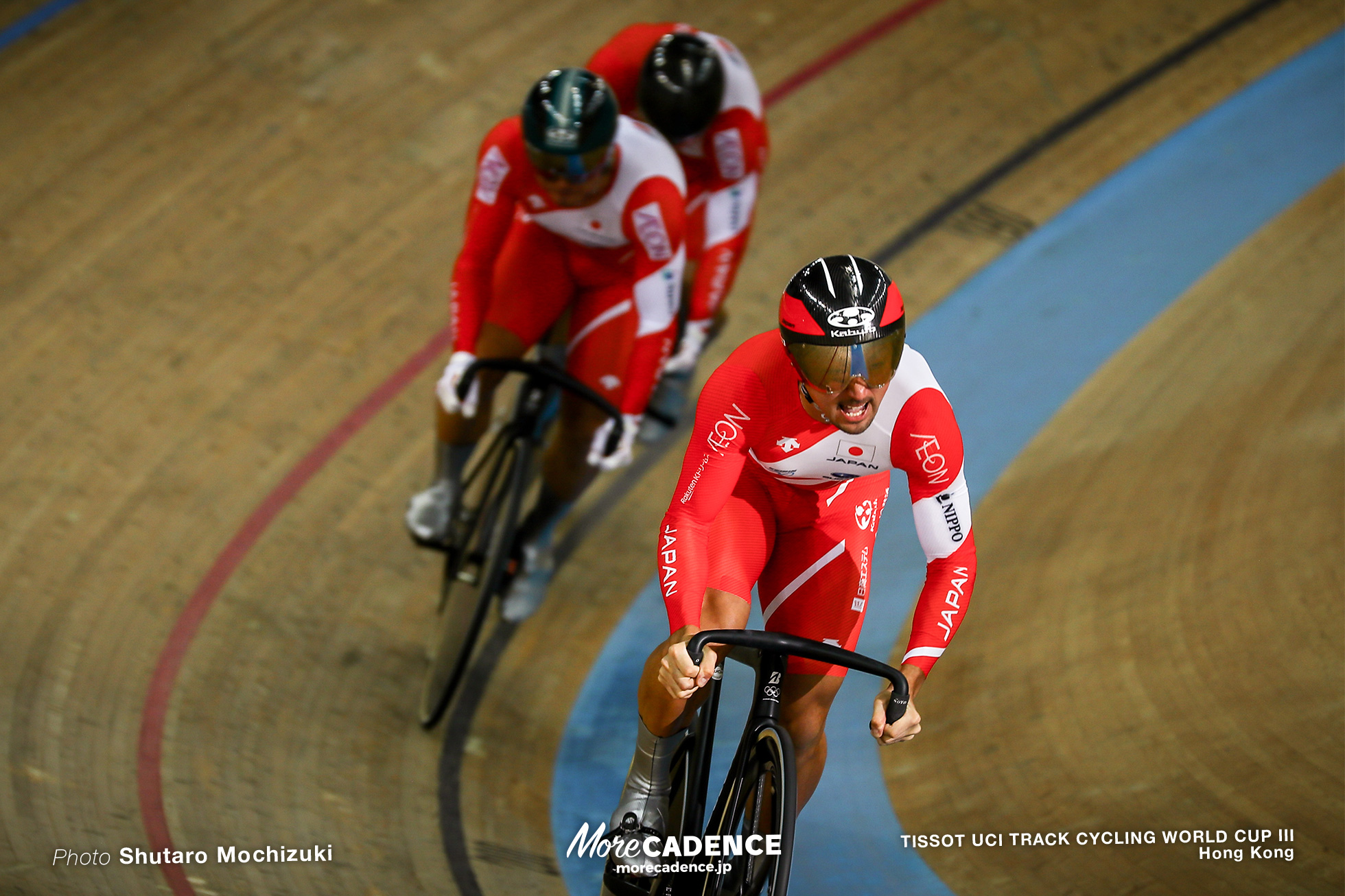 1st Round / Men's Team Sprint / TISSOT UCI TRACK CYCLING WORLD CUP III, Hong Kong, 雨谷一樹 新田祐大 深谷知広