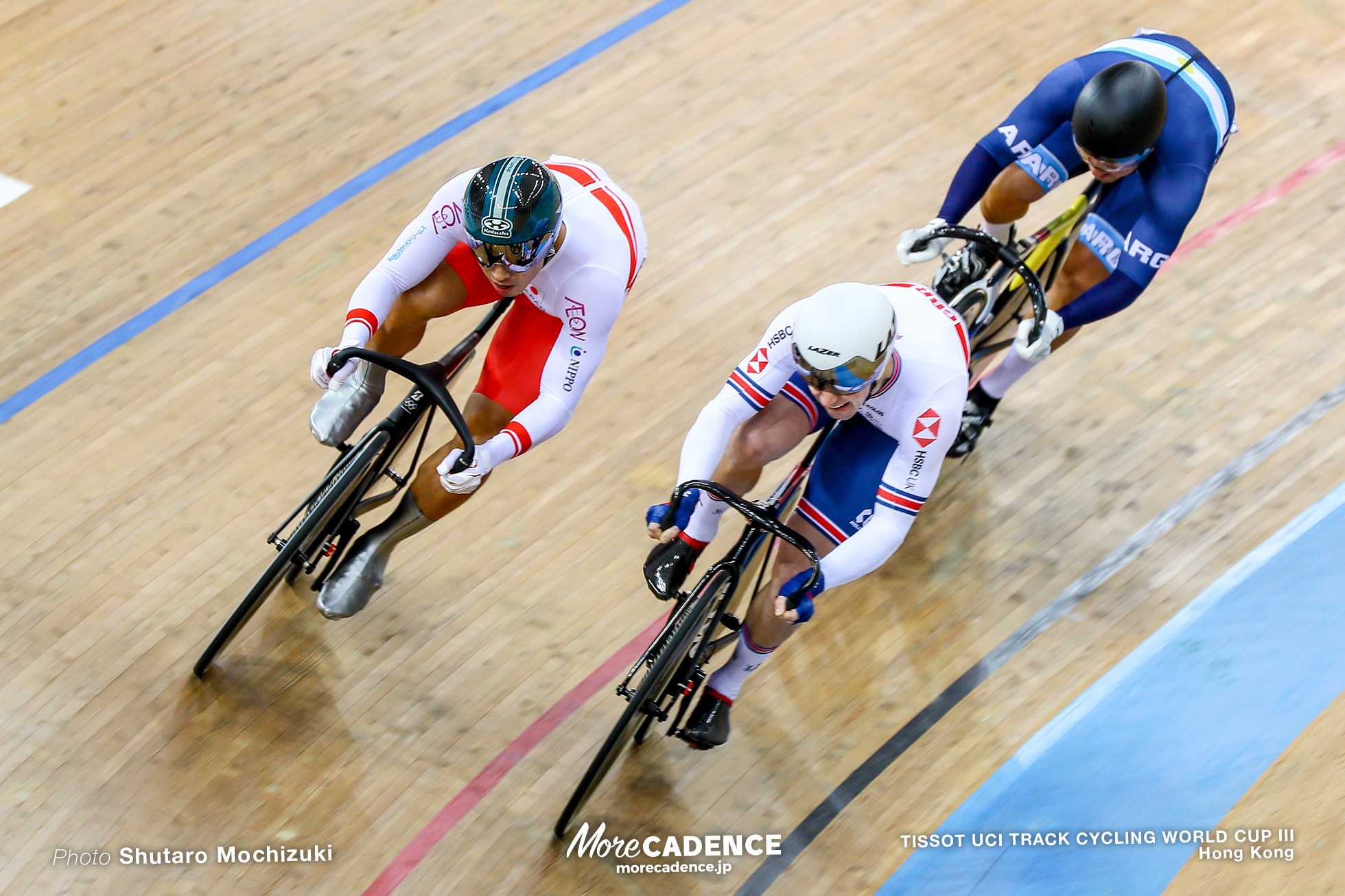 1st Round / Men's Keirin / TISSOT UCI TRACK CYCLING WORLD CUP III, Hong Kong, 新田祐大 Jason KENNY ジェイソン・ケニー
