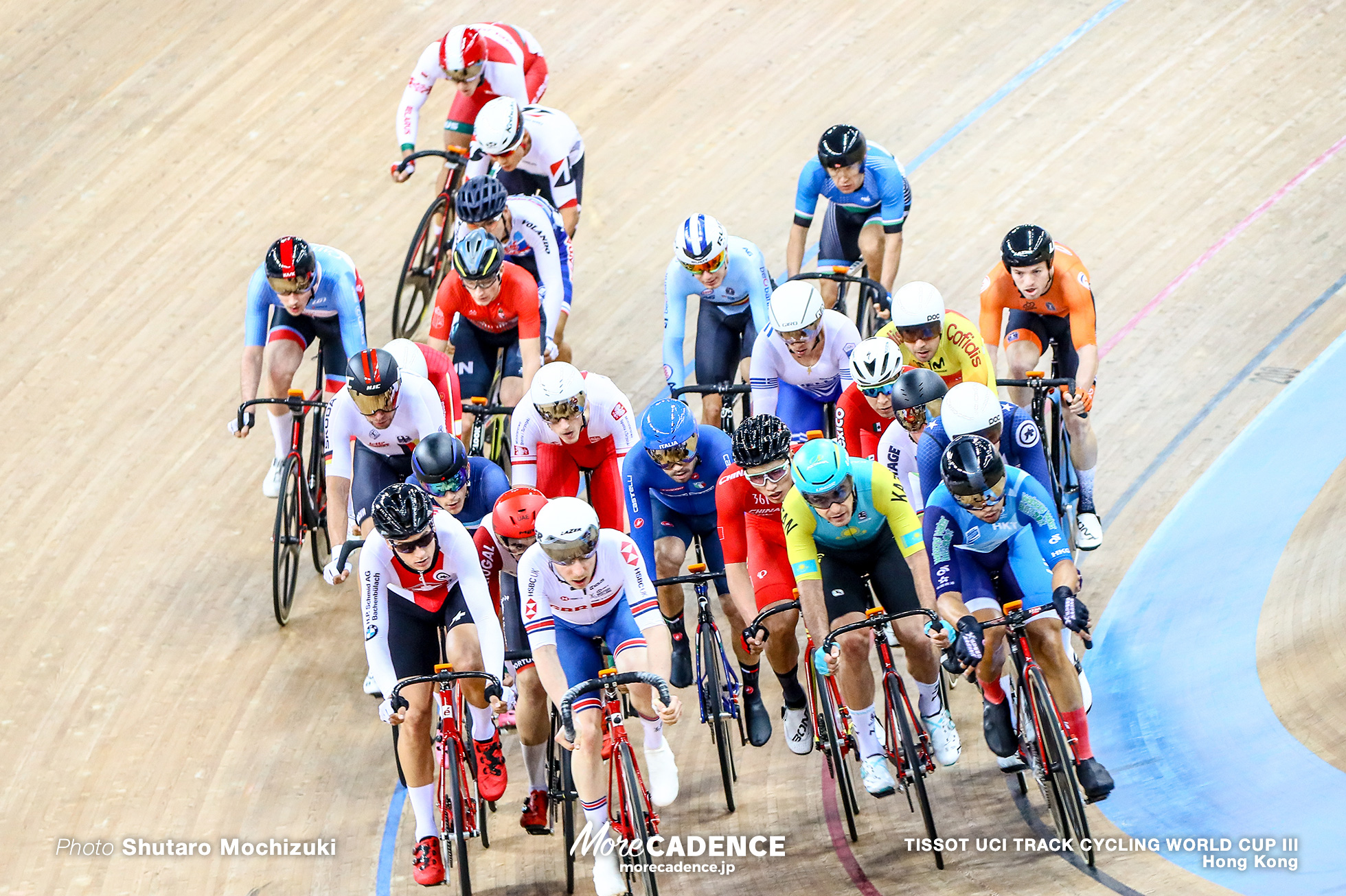 Elimination / Men's Omnium / TISSOT UCI TRACK CYCLING WORLD CUP III, Hong Kong